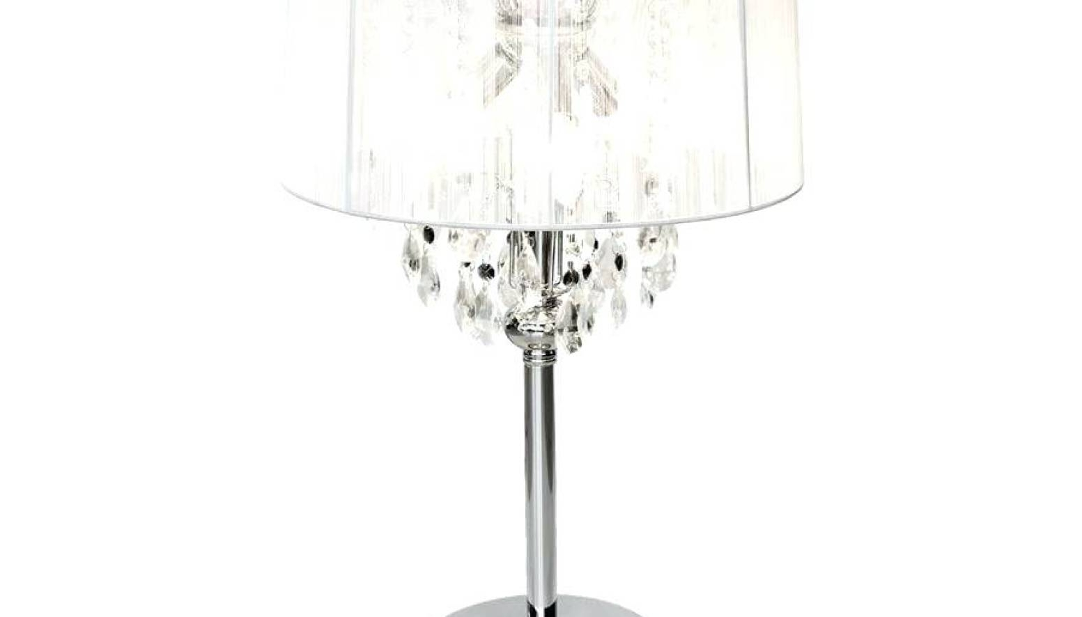 Famous Chandelier : Xstunning Crystal Chandelier Table Lamp Suppliers Regarding Small Crystal Chandelier Table Lamps (View 4 of 20)