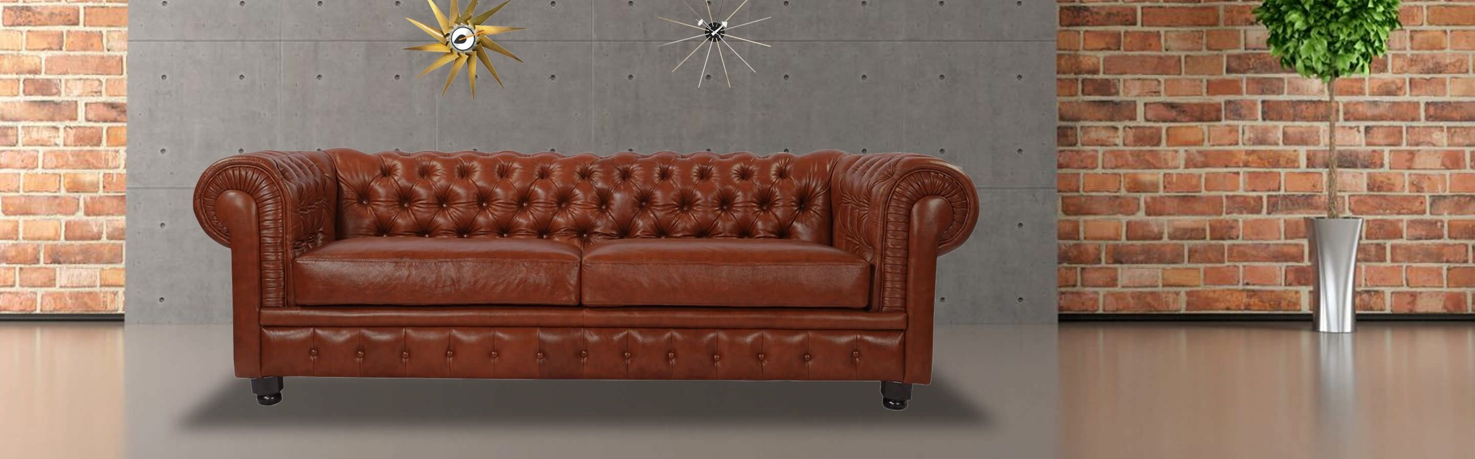 Famous Chesterfield Sofa, Chevron Grey Twill – Kardiel With Regard To Chesterfield Sofas And Chairs (View 14 of 20)