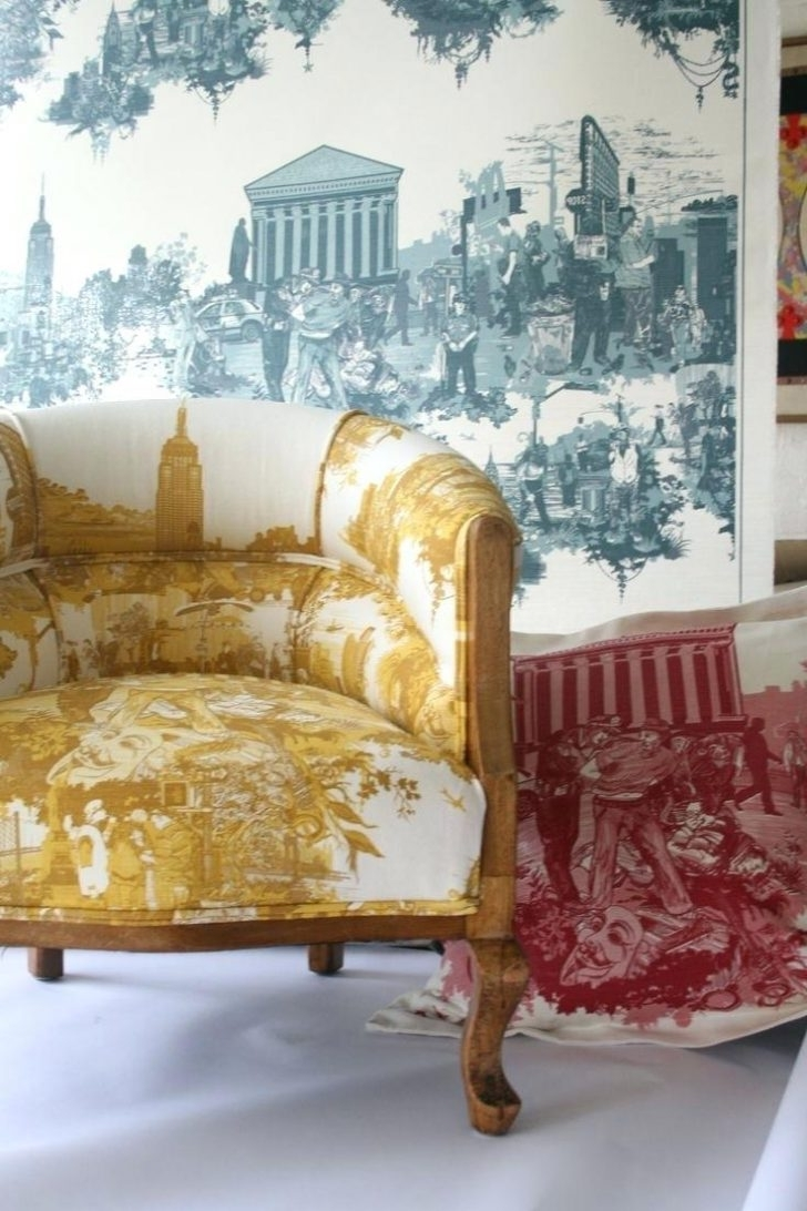 Famous Chintz Covered Sofas Within Chairs: Chintz Chairs. Chintz Arm Chairs (View 9 of 20)