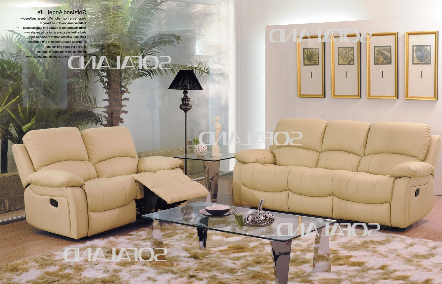 Famous Colored Leather Sofas Sofa Caramel Furniture Light Brown Yellow Within Cream Colored Sofas (View 13 of 20)