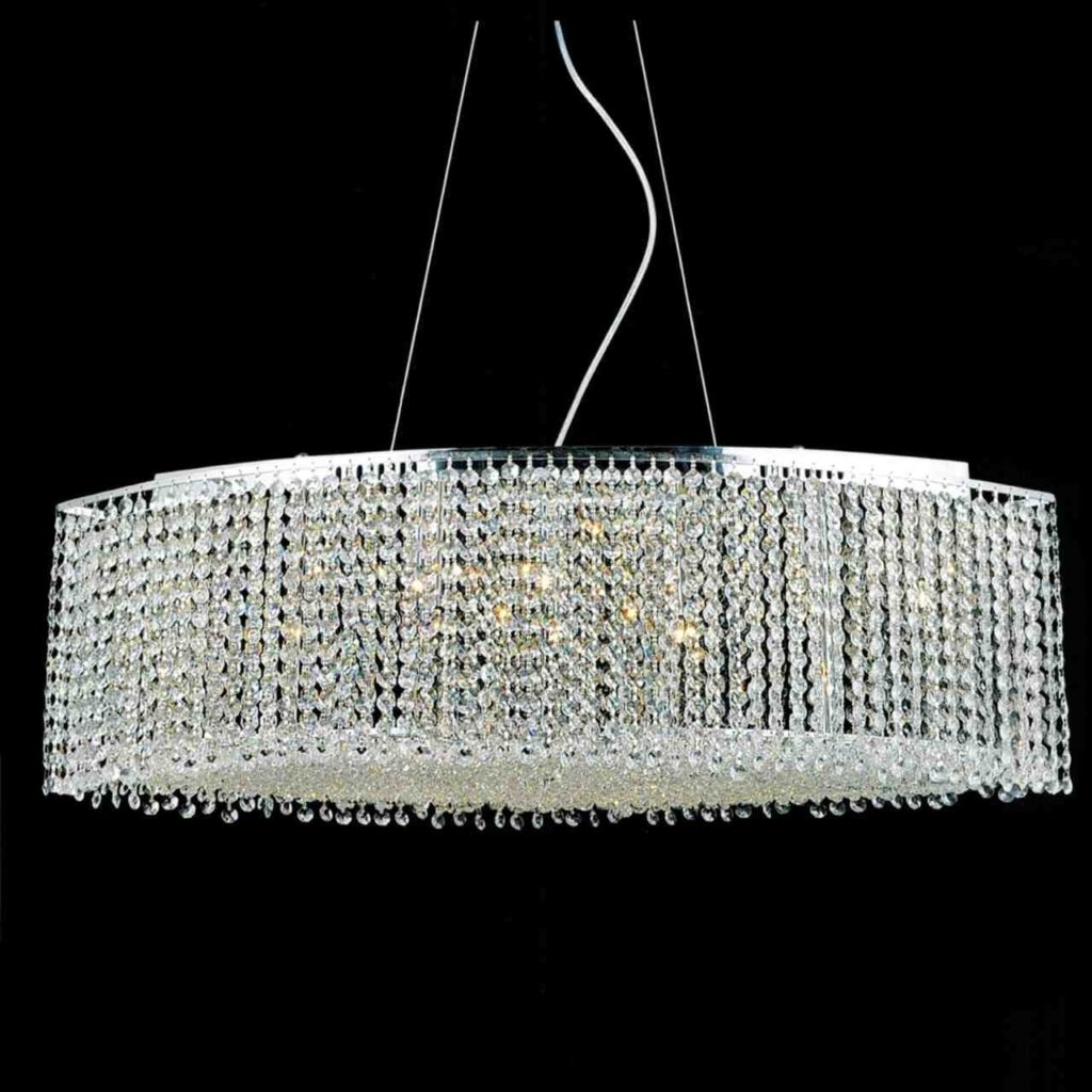 Famous Dining Room: Chandelier Crystals (View 5 of 20)