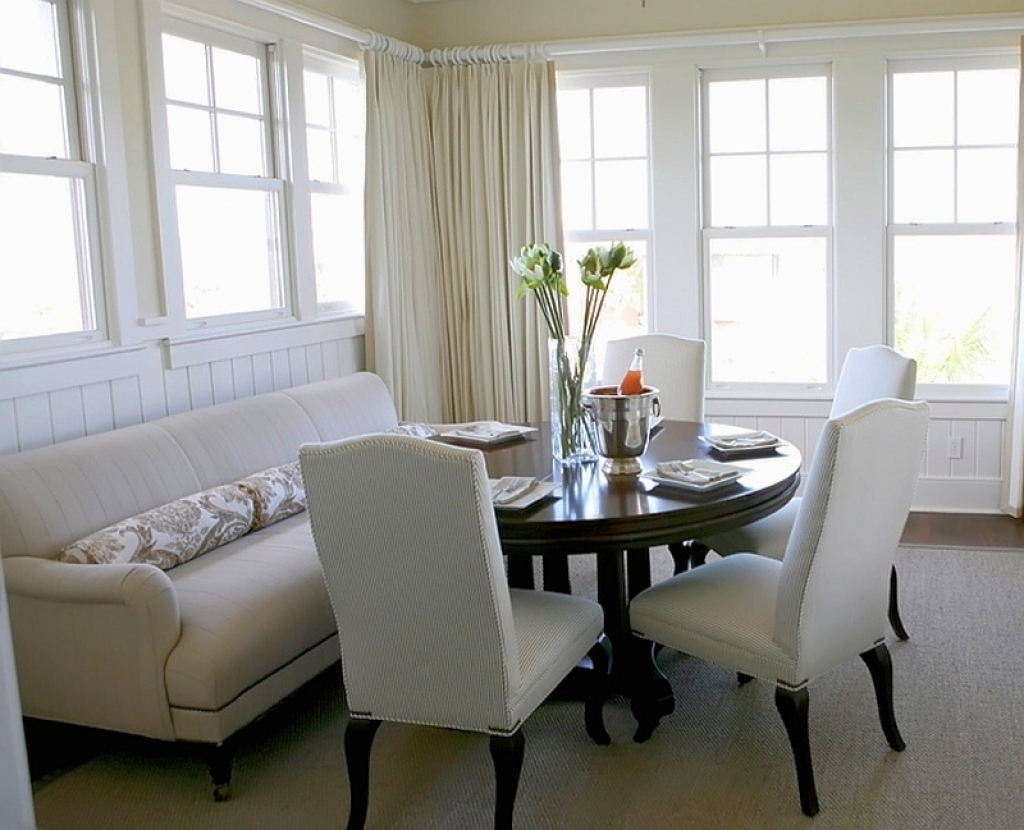 Famous Dining Sofa Chairs Within Sofa Seating For Dining Table Entrancing Sectional Dining Room (View 11 of 20)