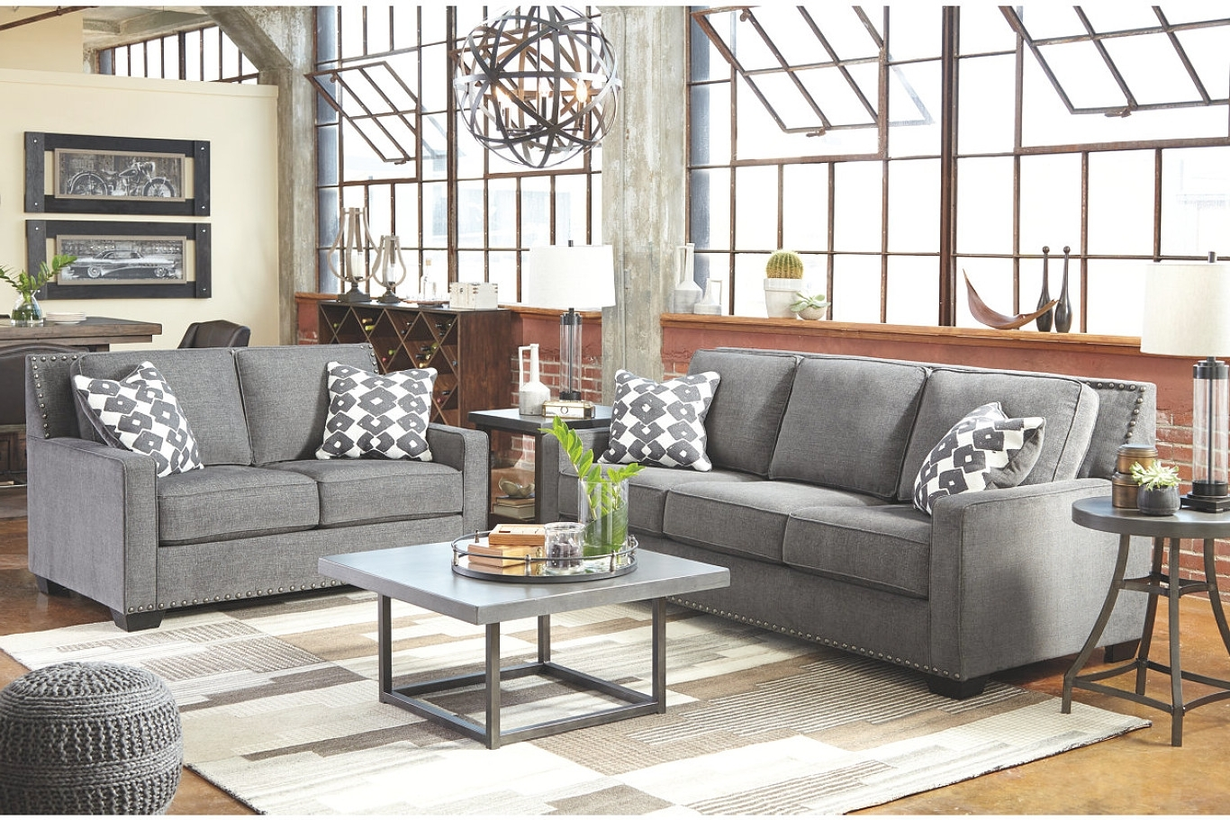 Famous Sofas Ashley Furniture Living Room Sets Sectionals A Regarding Nebraska Mart Sectional