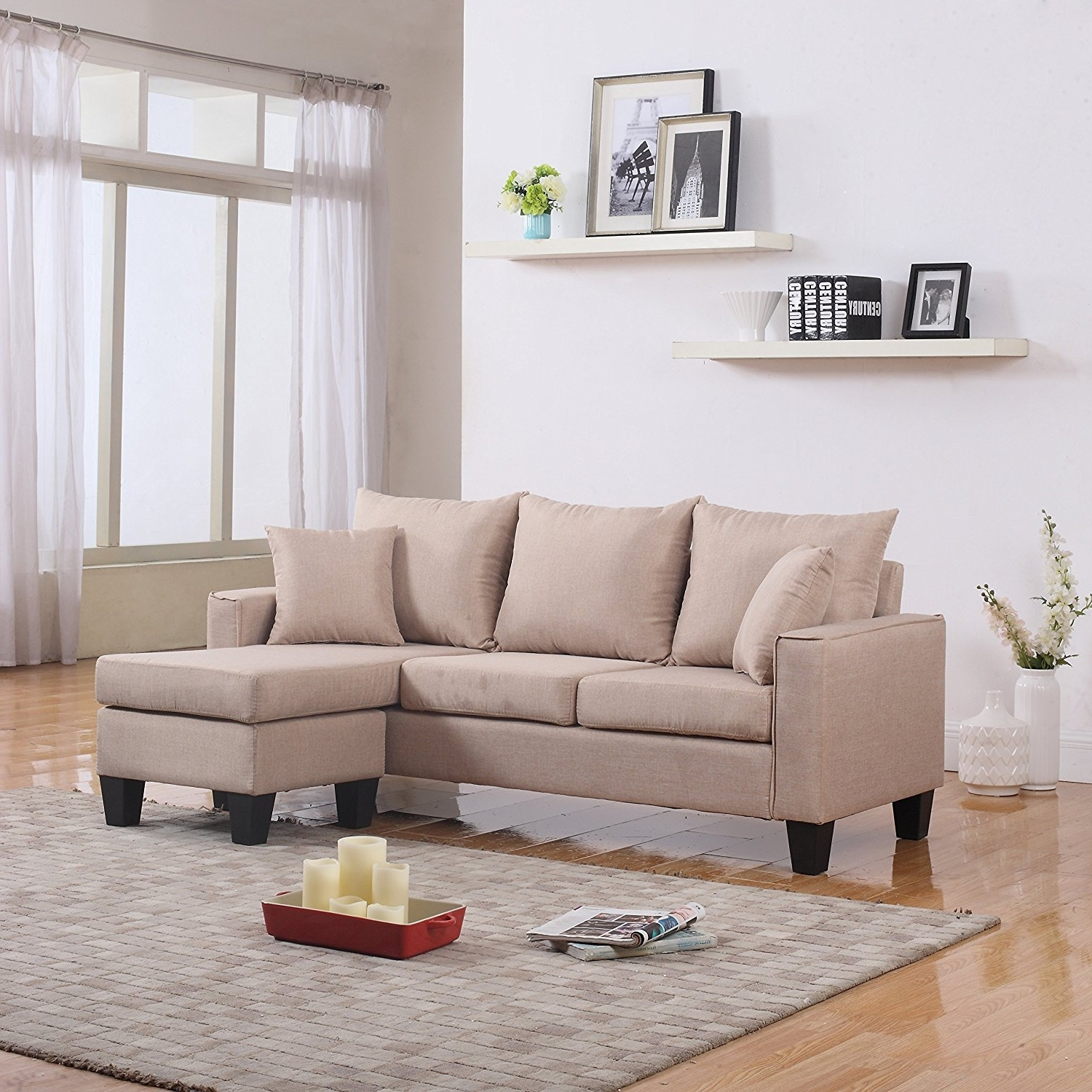 Famous Ethan Allen Furniture Small Sectional Sofas For Small Spaces Regarding Inexpensive Sectional Sofas For Small Spaces (View 4 of 20)