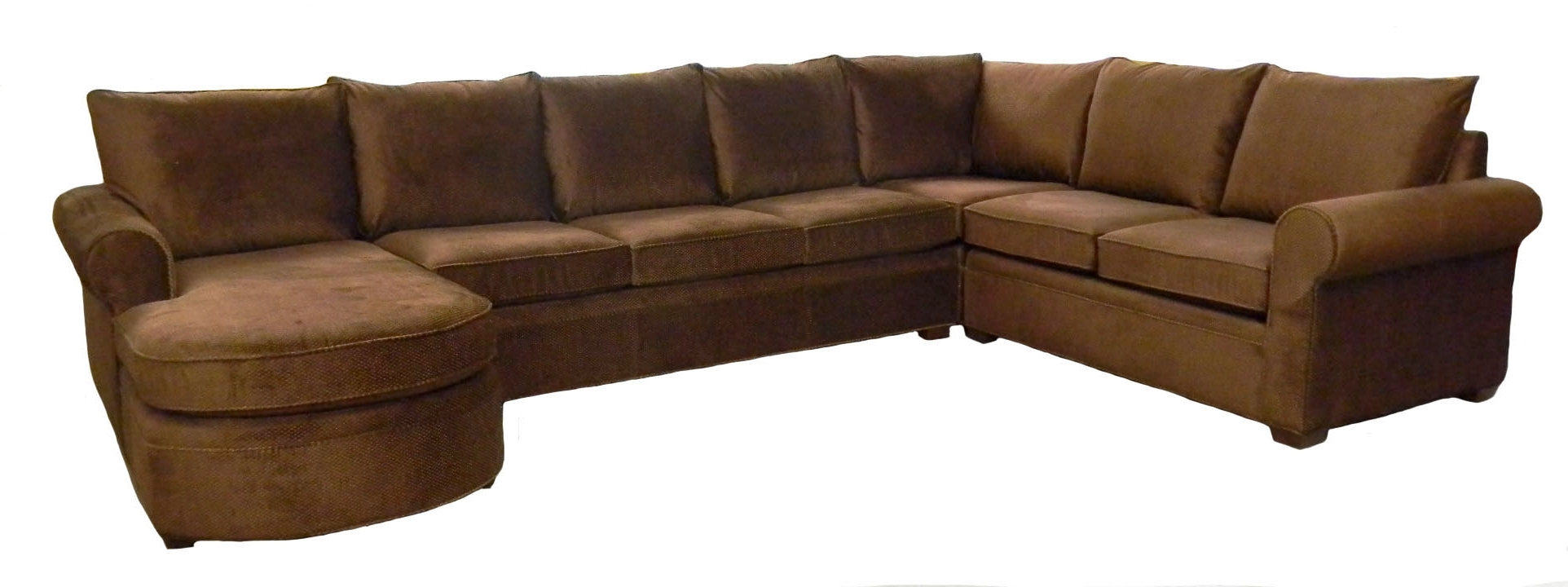 Famous Examples Custom Sectional Sofas Carolina Chair Furniture Inside Customizable Sectional Sofas (View 9 of 20)