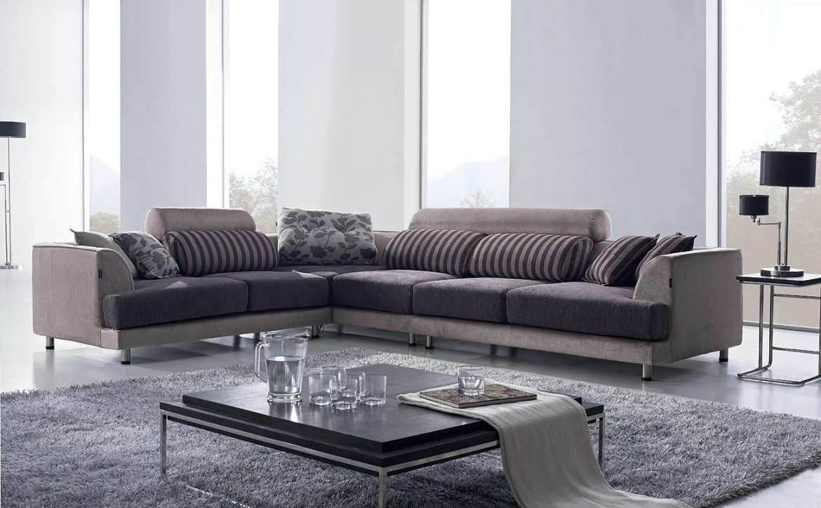 Famous Fabric Sectional Sofas Throughout Fancy Fabric Sectional Sofa 38 Office Sofa Ideas With Fabric (View 13 of 20)