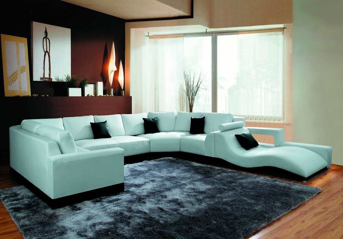 Famous Furniture: Modern Leather Sofa Sectionals For Living Room Design With The Bay Sectional Sofas (View 4 of 20)