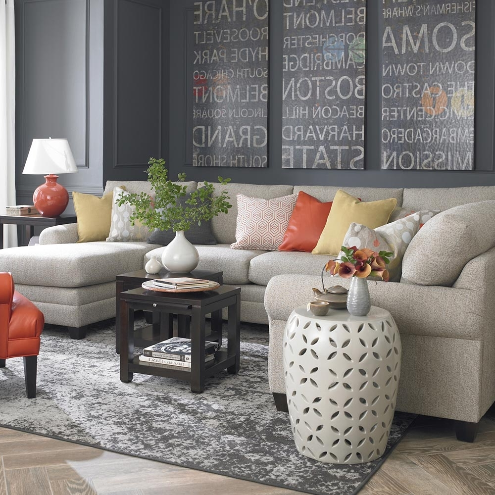 Famous Gray U Shaped Sectionals With Regard To Cu (View 5 of 20)