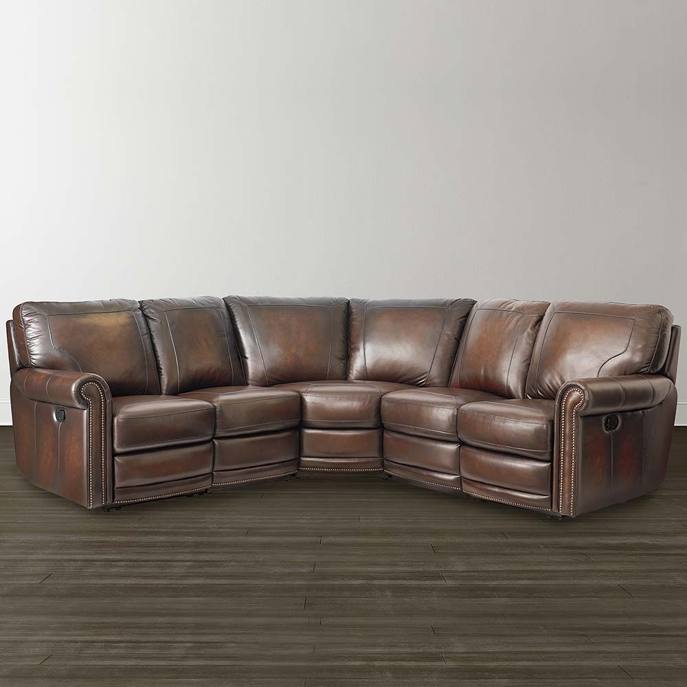 Famous Hamilton Sectional Sofas In Leather Motion Sectional Sofa – Home And Textiles (View 8 of 20)