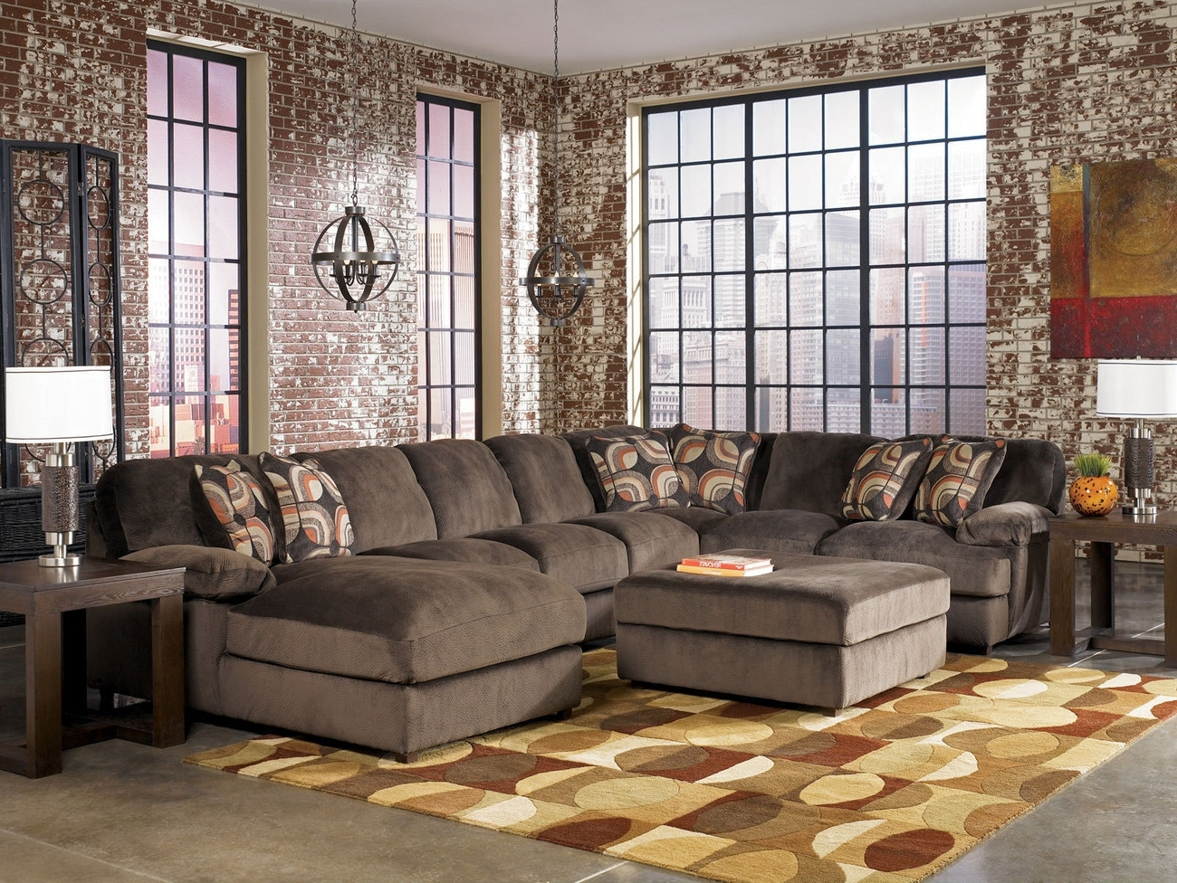 Famous Ikea Ektorp Sectional Oversized Sofas Large Sectional Sofa With Pertaining To Oversized Sectional Sofas (View 3 of 20)