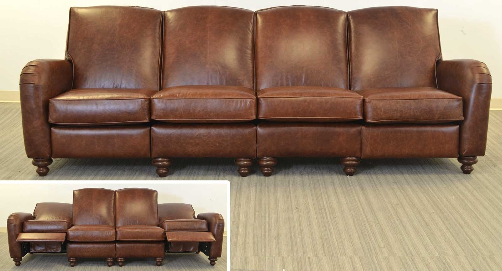 Famous Jordi Sofa ‹‹ The Leather Sofa Company Throughout Four Seater Sofas (View 4 of 20)
