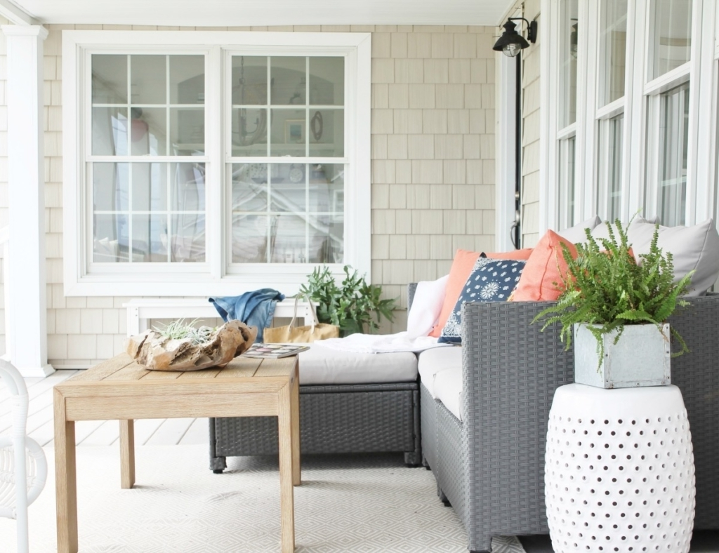 Famous Joss And Main Sectional Sofas Regarding Spring Front Porch + Joss And Main Outdoor Living Giveaway (View 6 of 20)