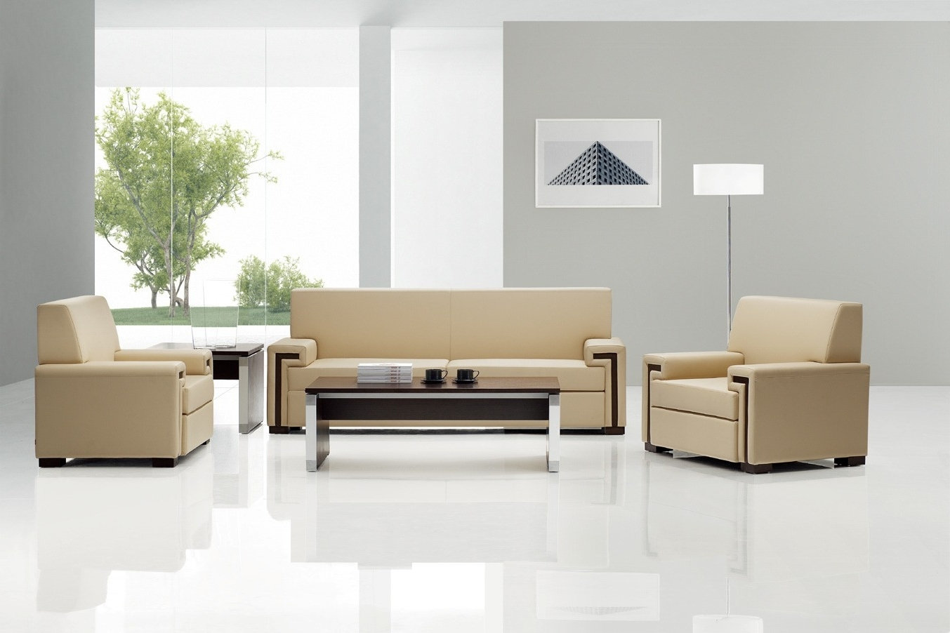 Famous Modern Executive Sofa (View 3 of 20)