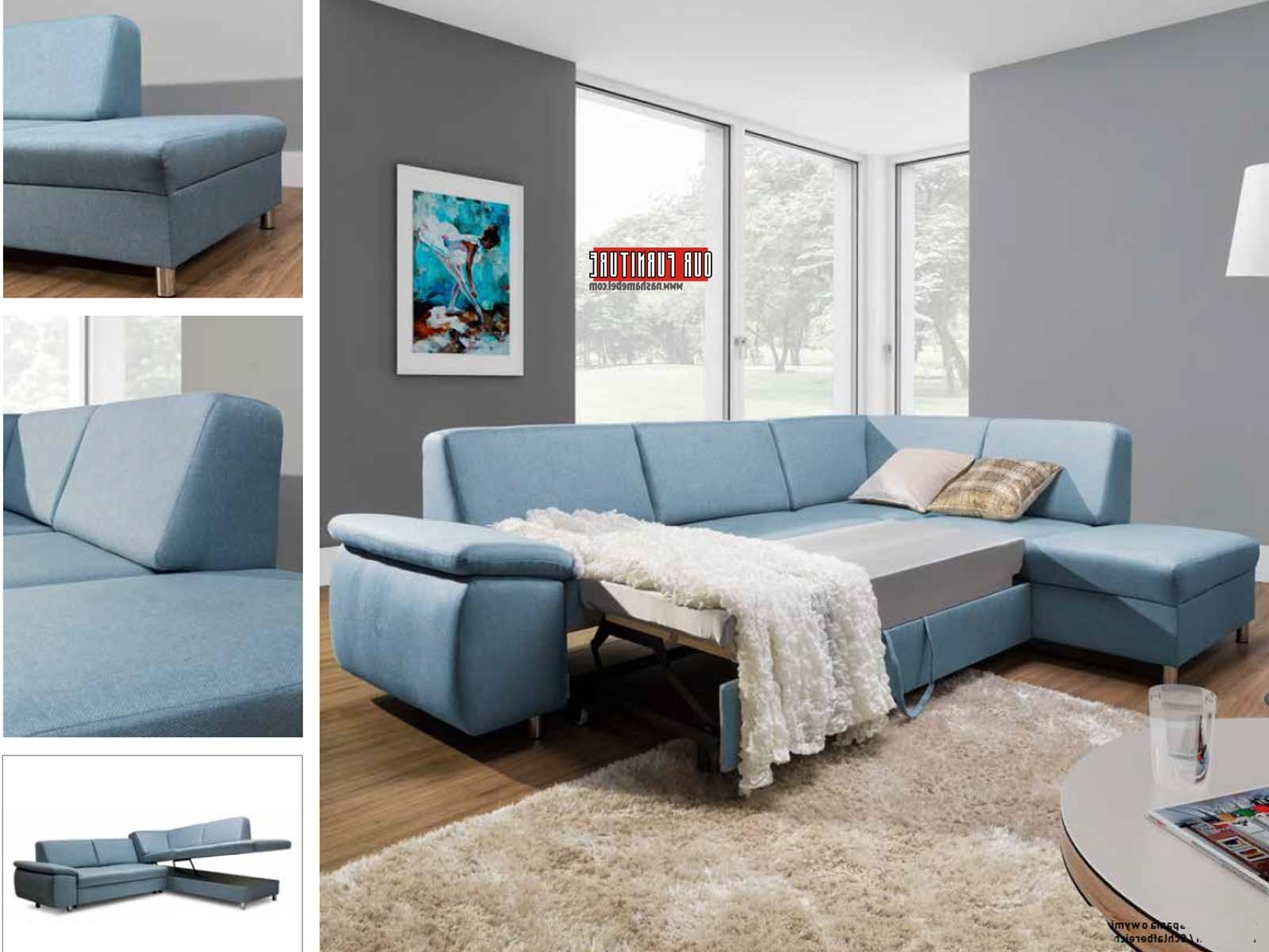 Famous Niagara Sectional Sofas Regarding Niagara(St)Sectional Sofa Bed. (Gallery 9 of 20)