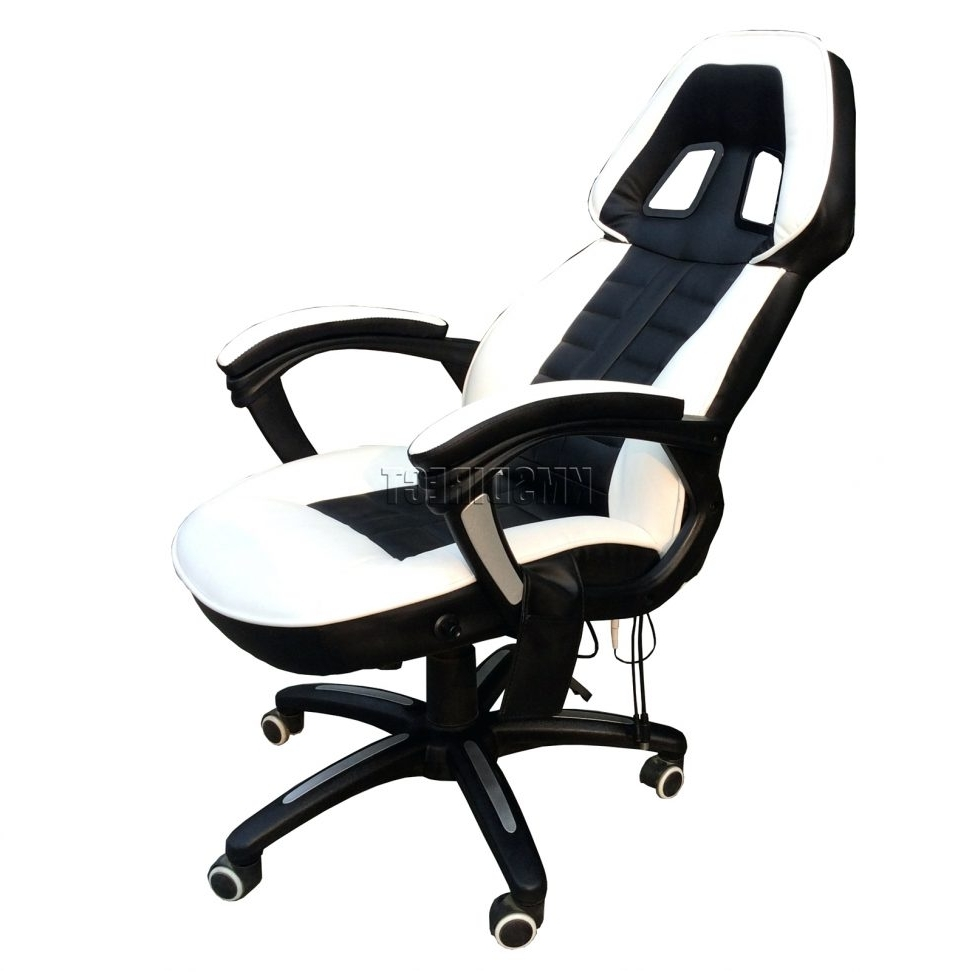 Famous Office Chair With Massage And Heat Big Boss C988 Adjustable Seat Regarding Executive Office Chairs With Shiatsu Massager (View 15 of 20)