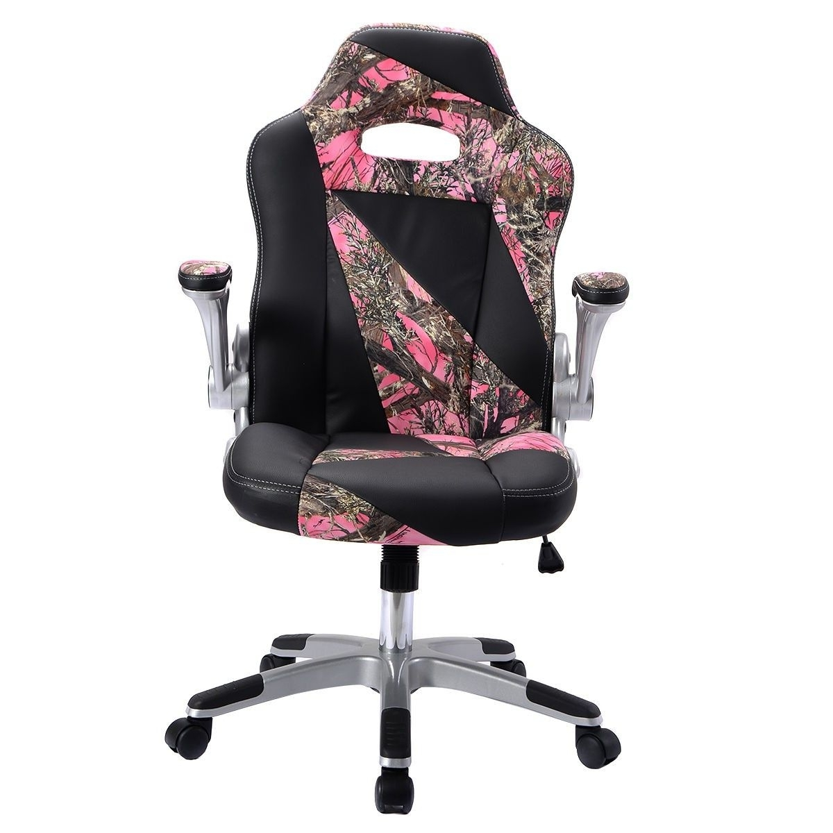 Famous Pu Leather High Back Executive Office Desk Task Computer Chair Within Pink Executive Office Chairs (View 2 of 20)