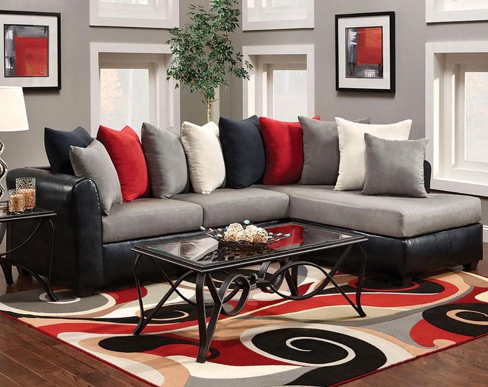 Famous Quatrine Sectional Sofas With Regard To Sectional Sofa: Great Sectional Sofas Under 300 Sleeper Sofas (View 14 of 20)