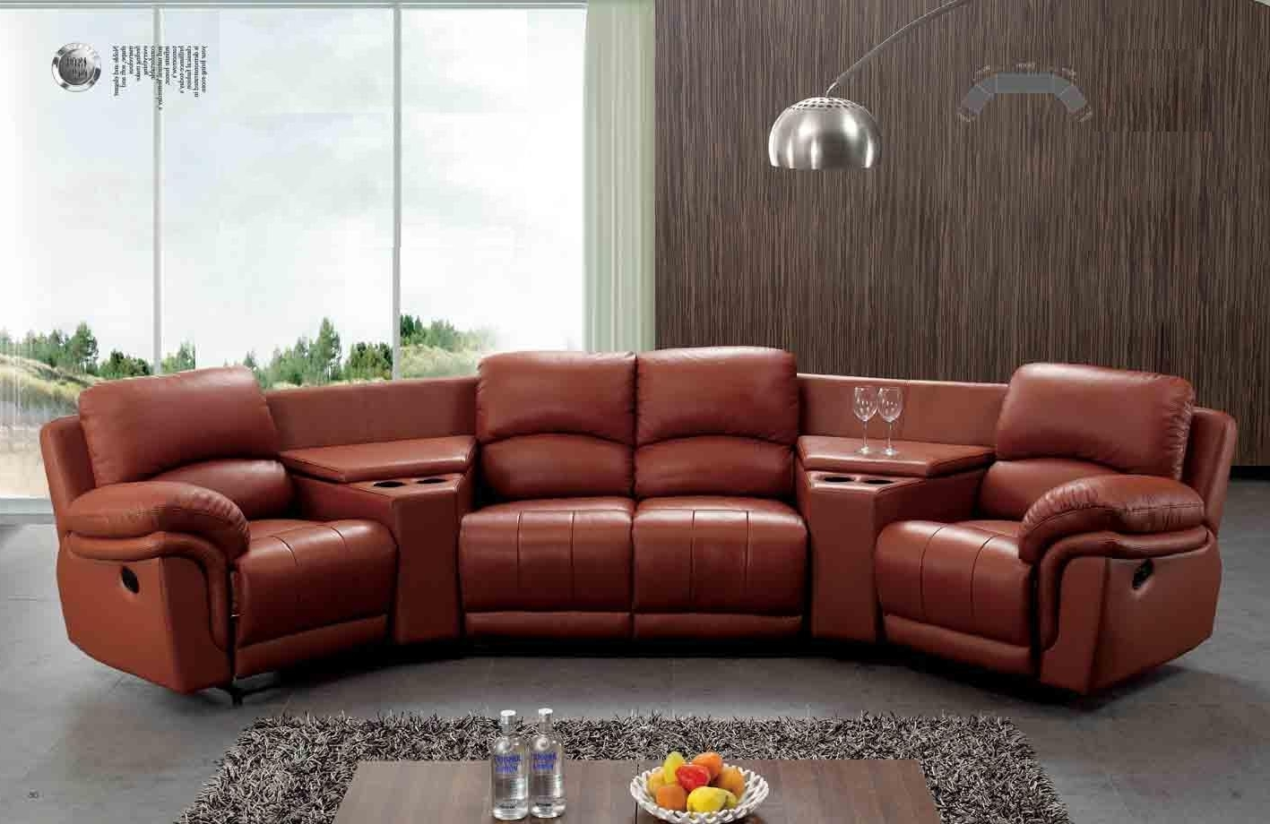 Famous Recliner Sofas Pertaining To Recliner Sofas 4u (View 4 of 17)