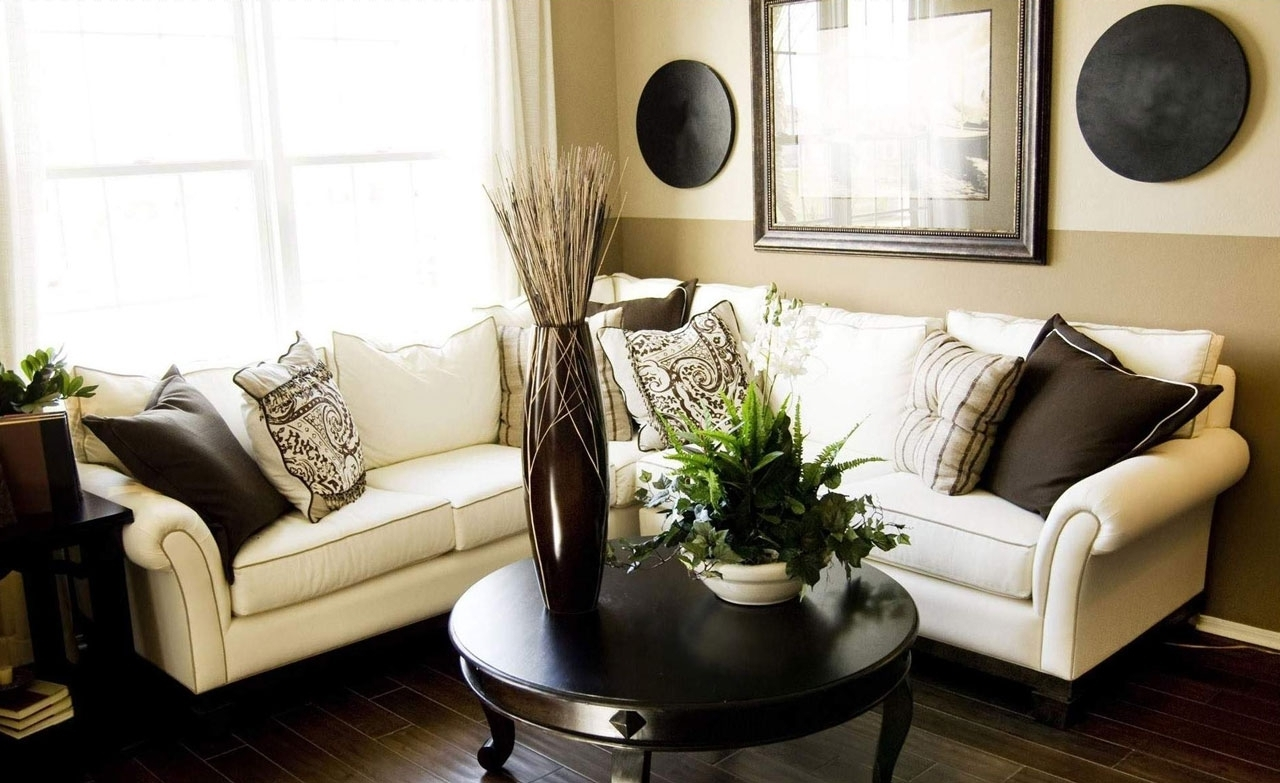 Famous Sectional Sofas For Small Living Rooms For Livingroom : Small Living Room Ideas With Sectional Sofa (View 10 of 20)