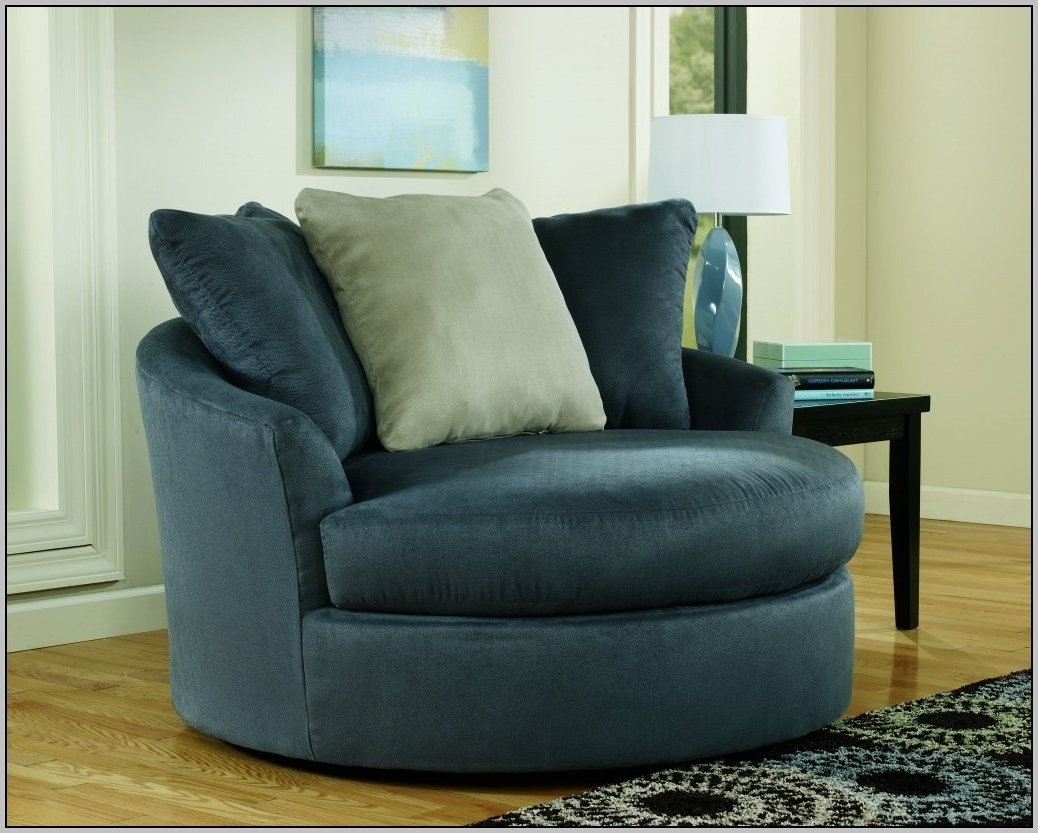 Famous Sofa : Round Spinning Sofa Chair Deluxe Round Sofa Chair Round Throughout Big Round Sofa Chairs (View 7 of 20)