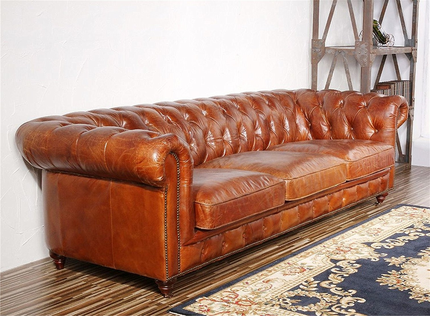 Famous Sofa : Sofa Tufted Leather Sleeper Marthaleather Set Modern Inside Craigslist Leather Sofas (View 12 of 20)