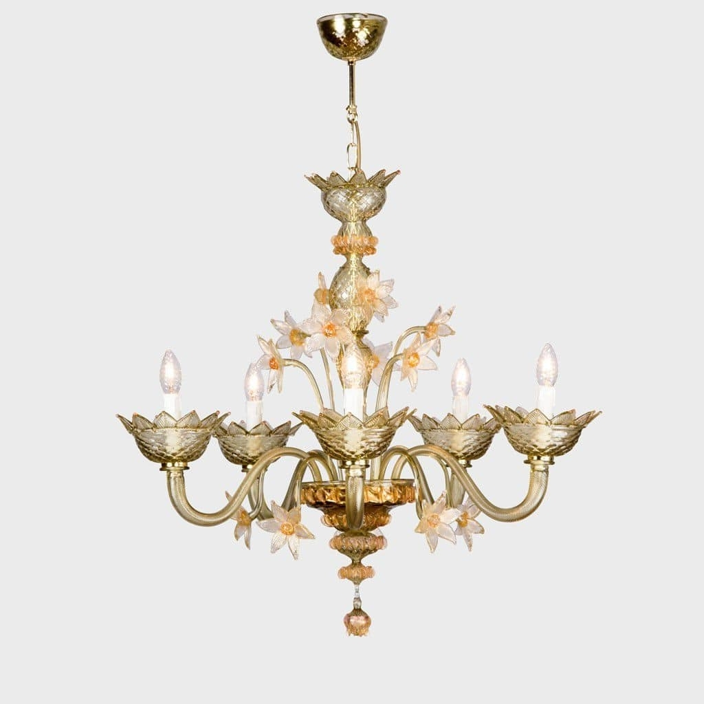 Famous Traditional Chandelier / Murano Glass / Incandescent – Penelope Pertaining To Traditional Chandelier (View 7 of 20)