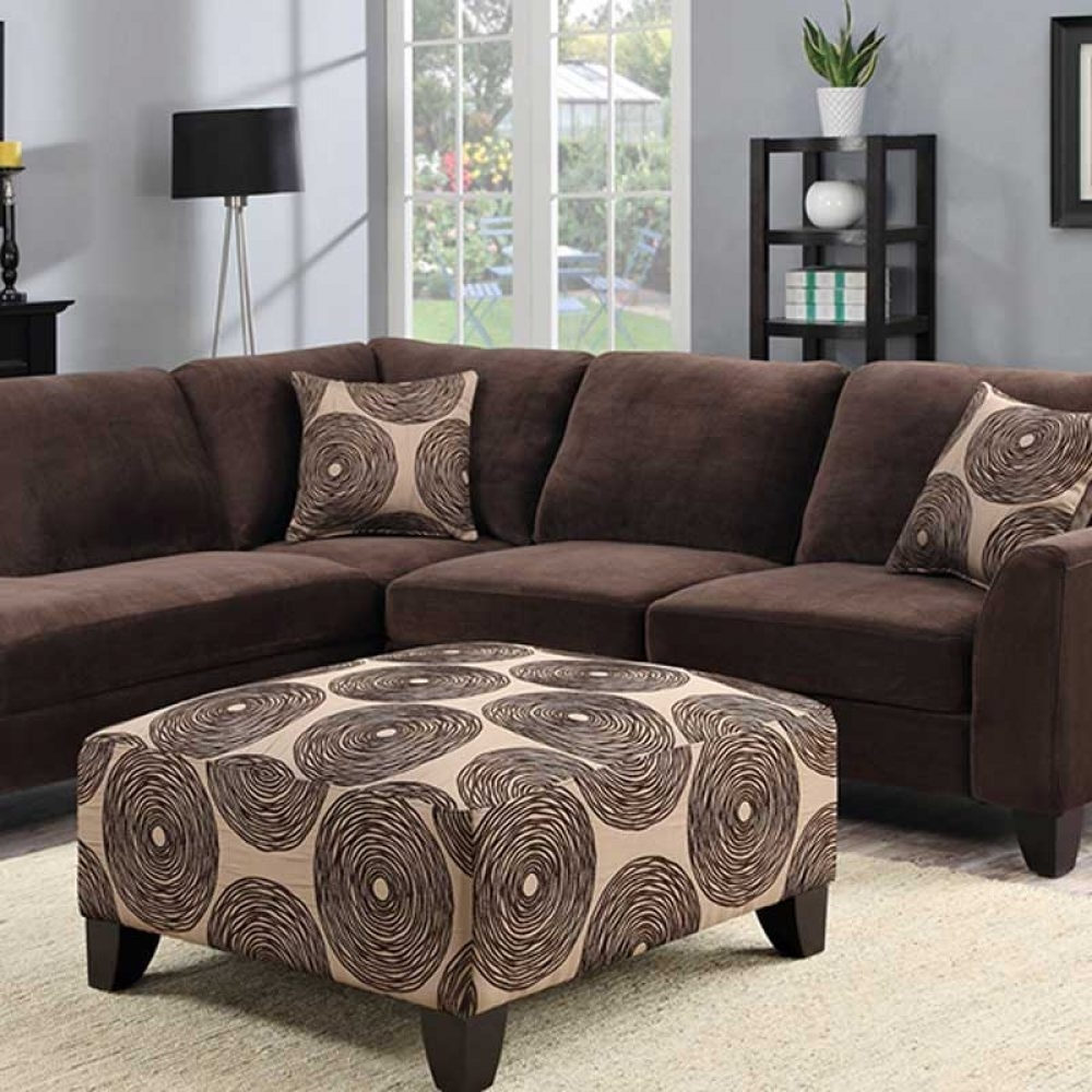 Famous Vancouver Wa Sectional Sofas Throughout Malibu Brown Sectional – The Furniture Shack (View 7 of 20)