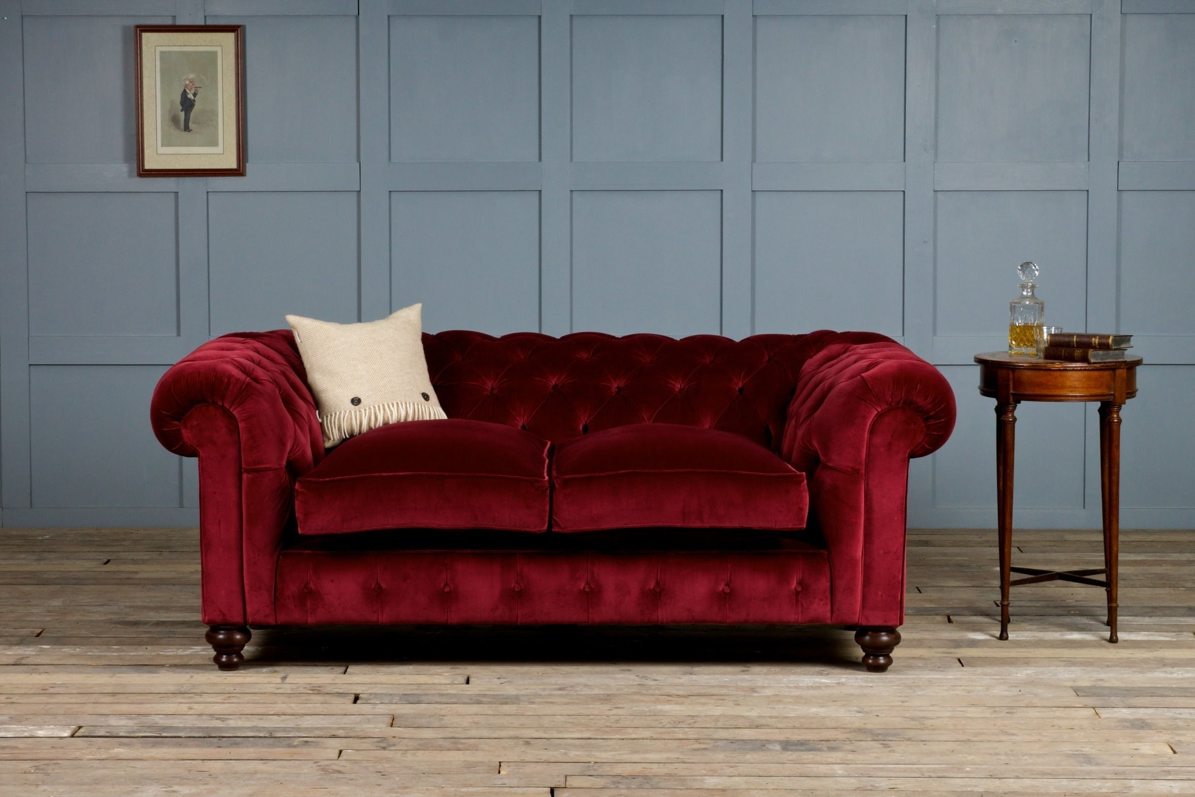 Famous Velvet Sofas Pertaining To Velvet Sofa – Youtube (View 4 of 20)