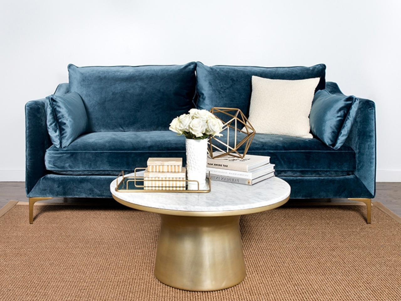 Famous Velvet Sofas With Regard To 11 Of The Best Velvet Sofas To Decorate With (View 5 of 20)