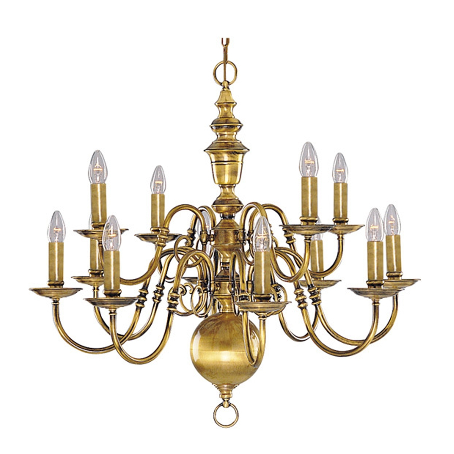 Famous Vintage Brass Chandeliers Within Chandeliers Design : Wonderful Interesting Antique Brass Chandelier (View 4 of 20)