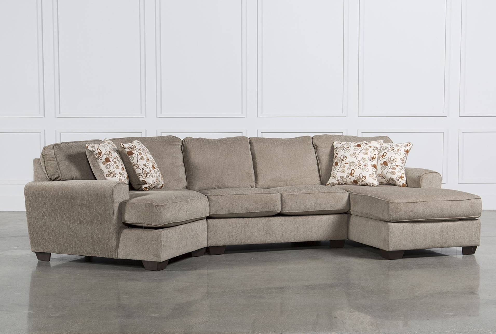 Fancy Sectional Sofa With Cuddler 52 For Contemporary Sofa Inside Most Recent Cuddler Sectional Sofas (View 4 of 20)