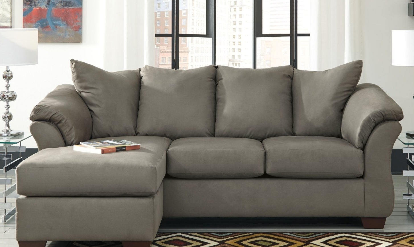 Fashionable Abbyson Sectional Sofas Intended For Stylish Abbyson Living Charlotte Dark Brown Sectional Sofa And (View 10 of 20)
