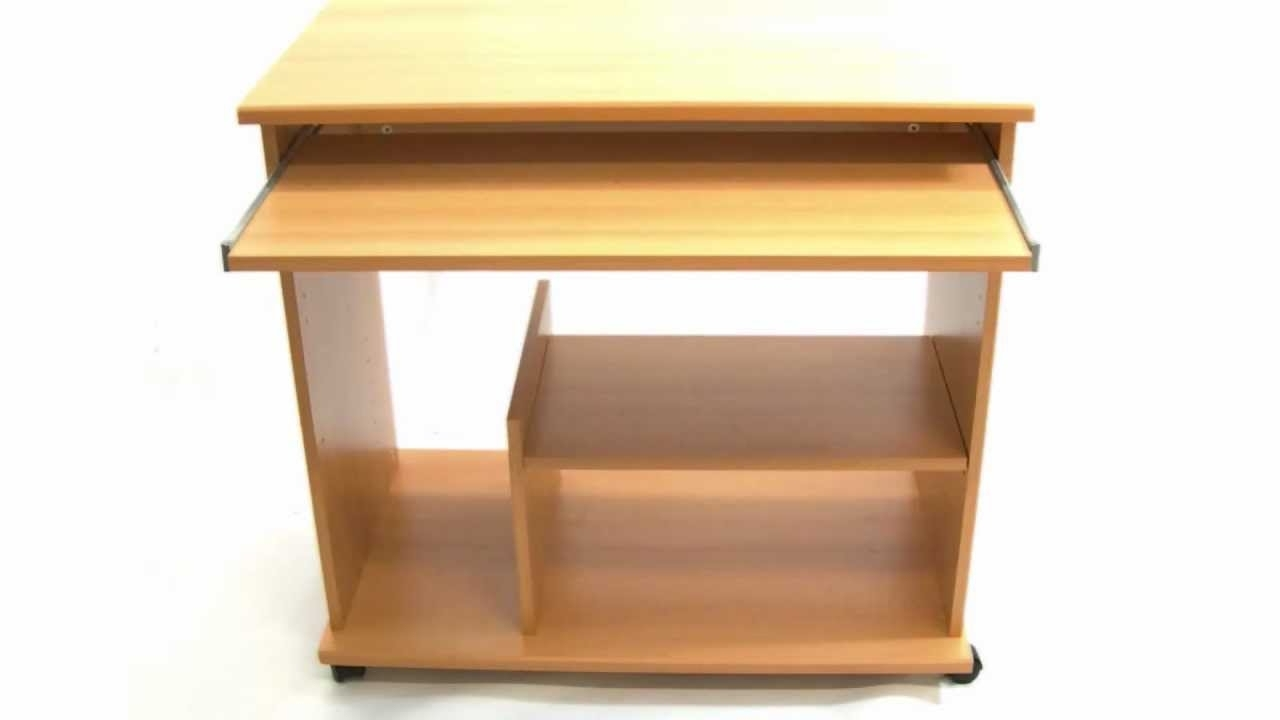Fashionable Assembled Computer Desks With Mobil Computer Desk Assembly – Youtube (View 13 of 20)