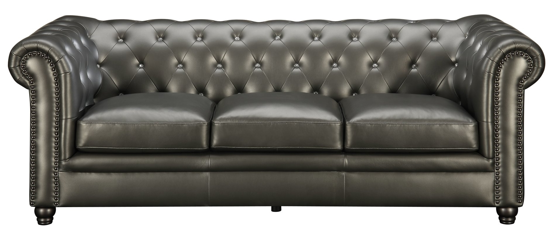 Fashionable Chesterfield Sofas With Darby Home Co Vanallen Leather Chesterfield Sofa & Reviews (View 12 of 20)