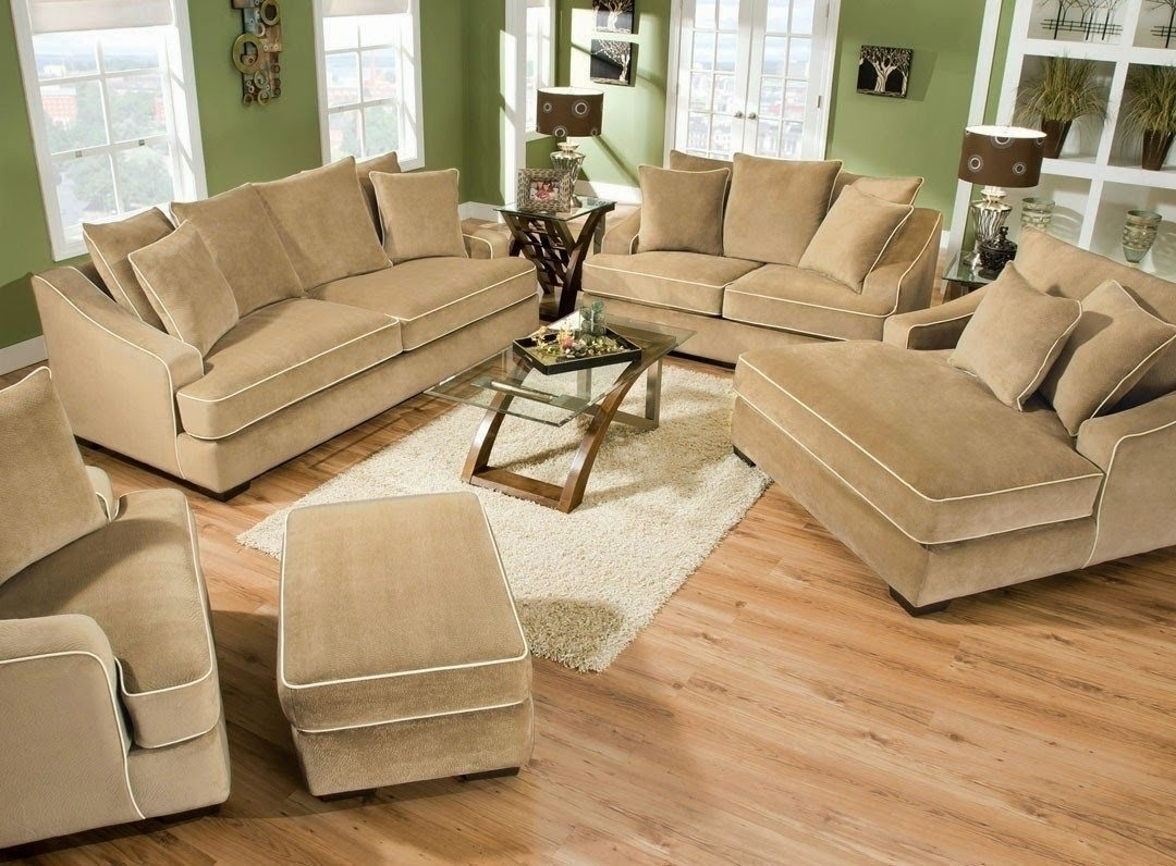 Fashionable Deep Seating Sectional Sofas Intended For Deep Seat Leather Sectional Sofa • Leather Sofa (View 8 of 20)