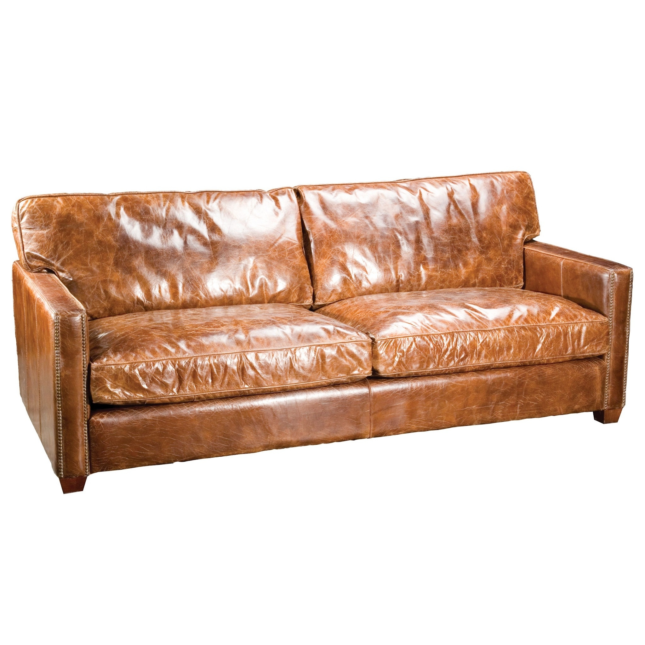 Fashionable Espresso Leather Top Grain Amusing Full Grain Leather Sofa – Home With Full Grain Leather Sofas (View 7 of 20)
