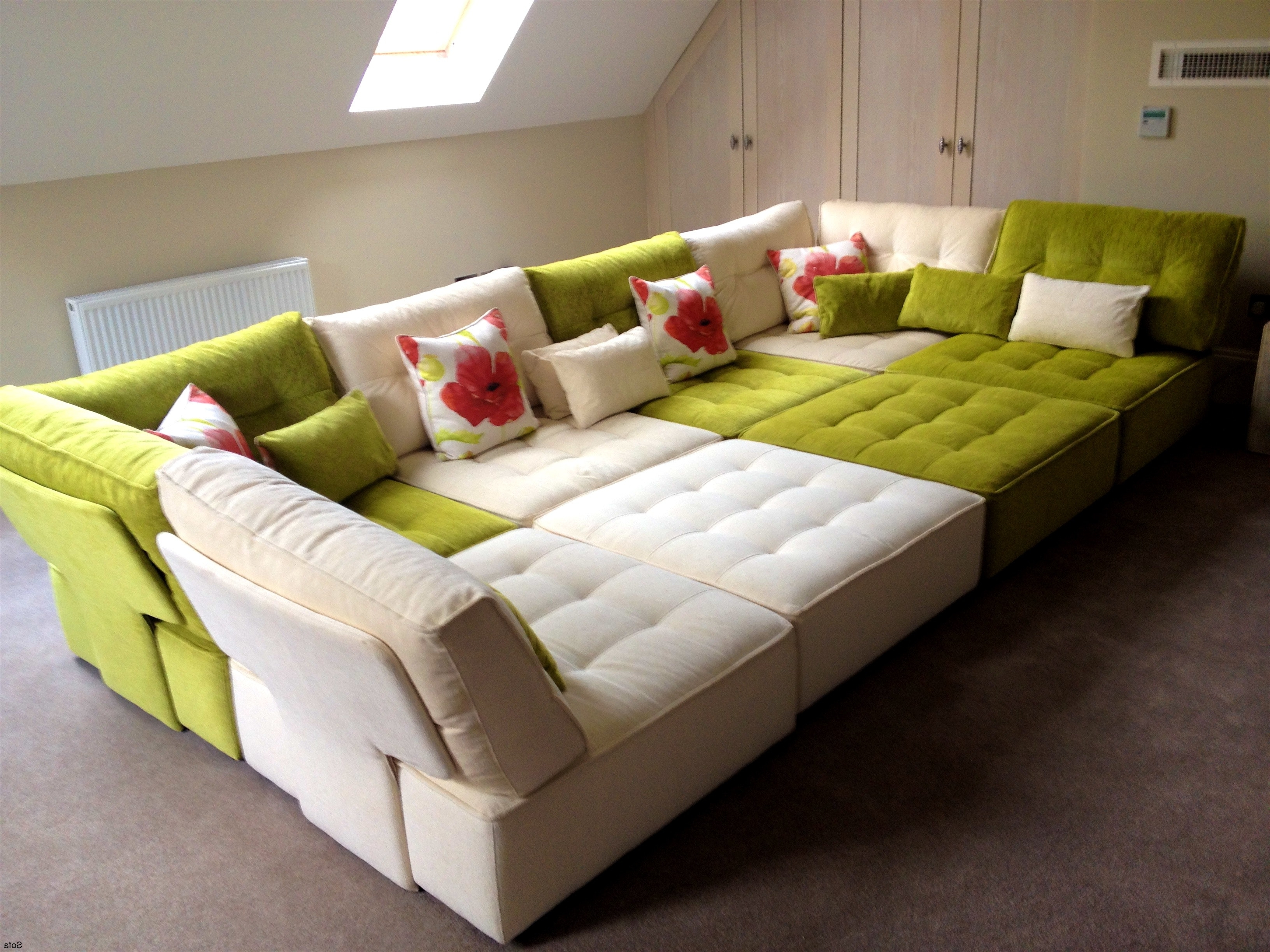 Fashionable Floor Cushion Sofa – Mforum Within Floor Cushion Sofas (Gallery 4 of 20)