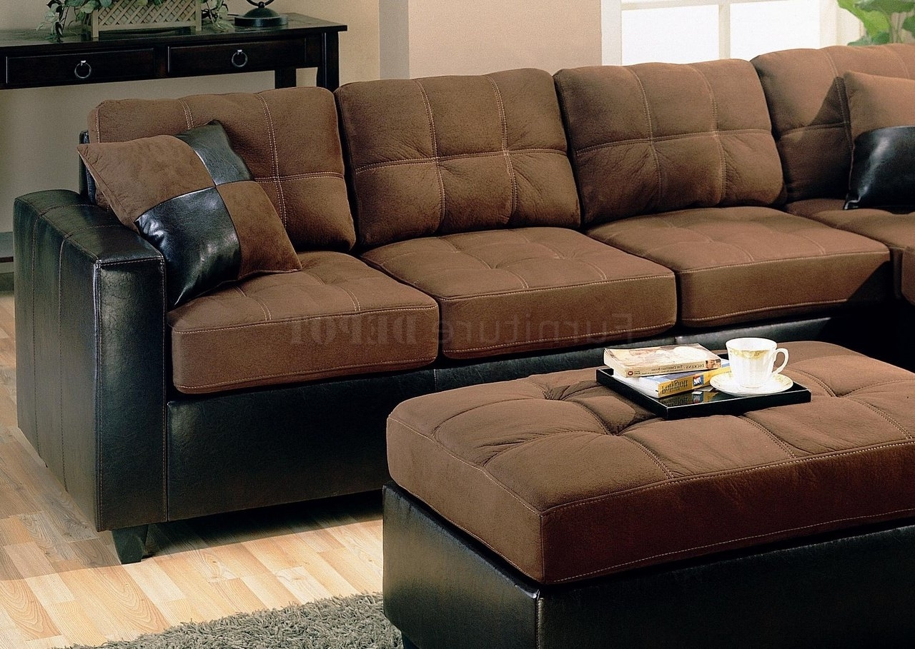 Fashionable Fresh Chocolate Brown Sectional Sofa With Chaise 40 On Intended For Chocolate Brown Sectional Sofas (View 11 of 20)