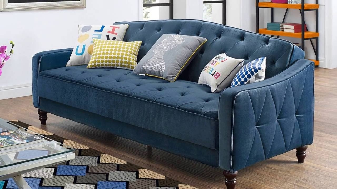 Fashionable Furniture : Chesterfield Sofa Ikea Tufted Leather Couch Canada Mia With Quad Cities Sectional Sofas (View 3 of 20)