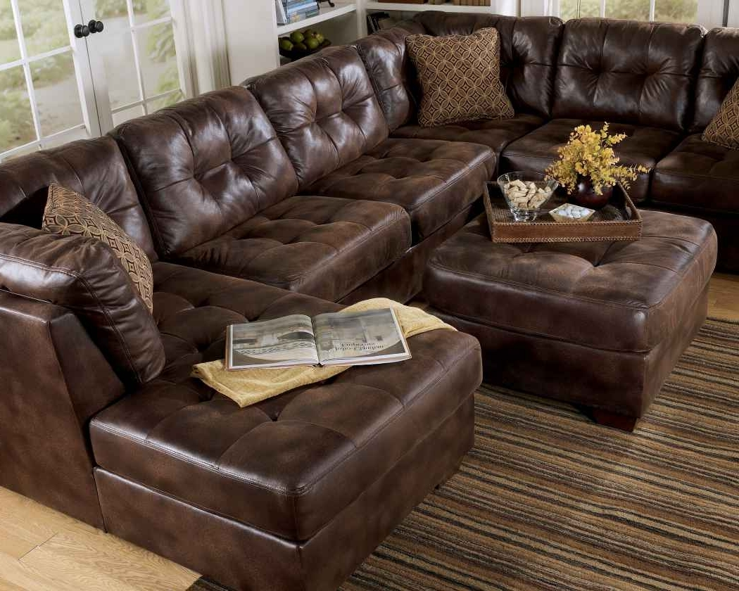Fashionable Furniture: Deep Seated Sectional Couches (View 10 of 20)