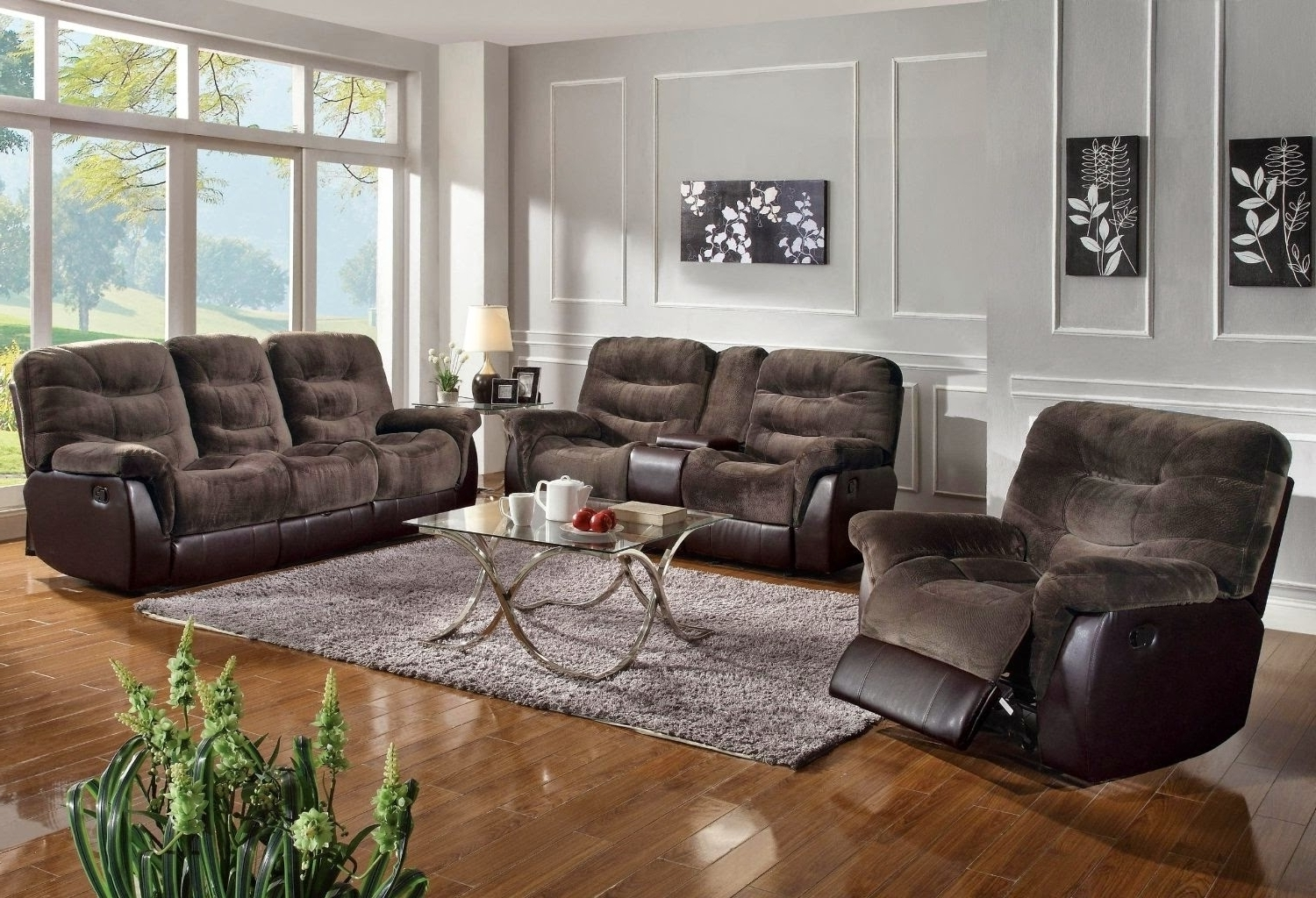 Fashionable Furniture Reclining Sectional Sofas For Small Spaces Reclining Throughout Sectional Sofas In Small Spaces (View 4 of 20)