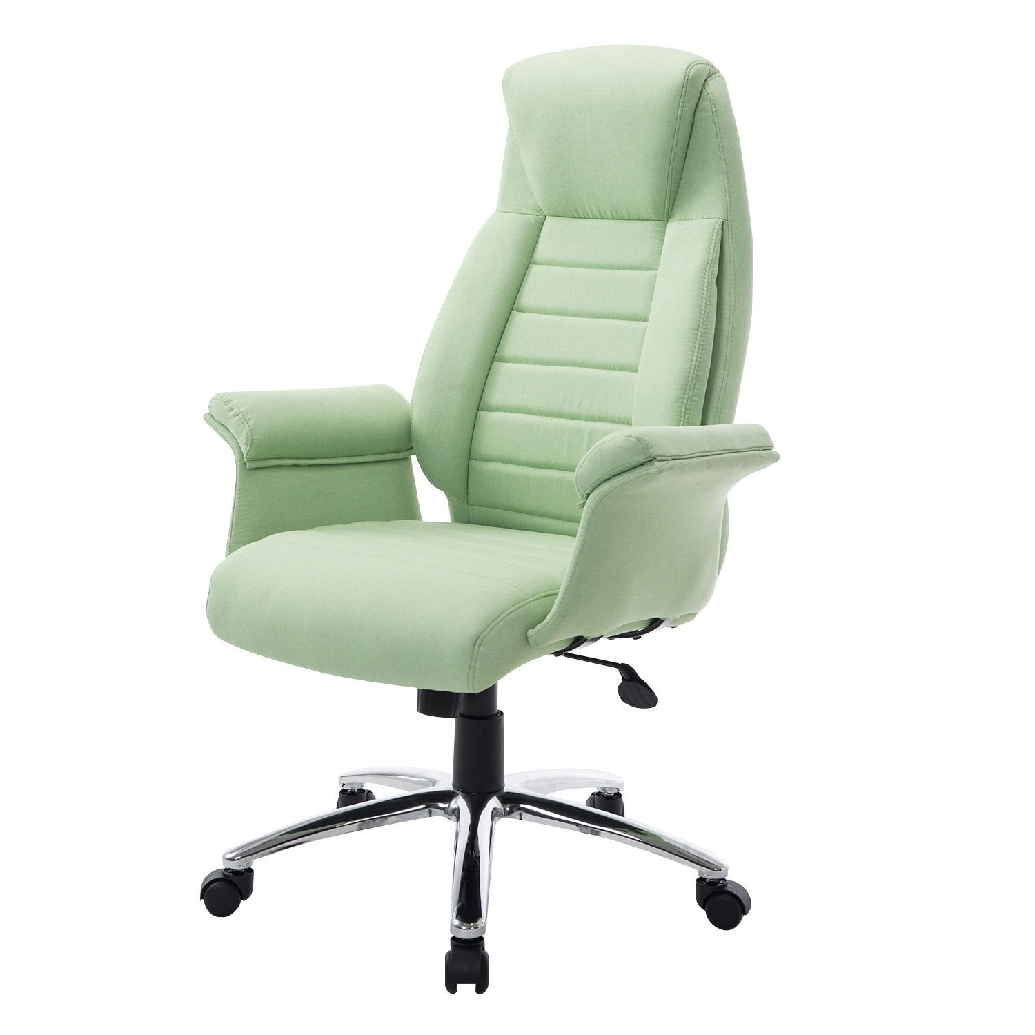 Fashionable Green Executive Office Chairs With Regard To Homcom Executive Heated Massage Office Chair – Cream (View 7 of 20)
