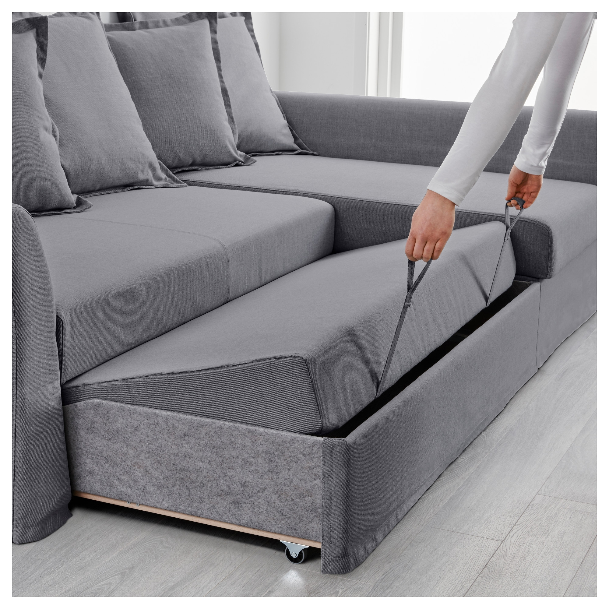 Fashionable Ikea Corner Sofas With Storage With Sofa : Elegant Ikea Corner Sofa Bed Friheten With Storage Skiftebo (View 2 of 20)