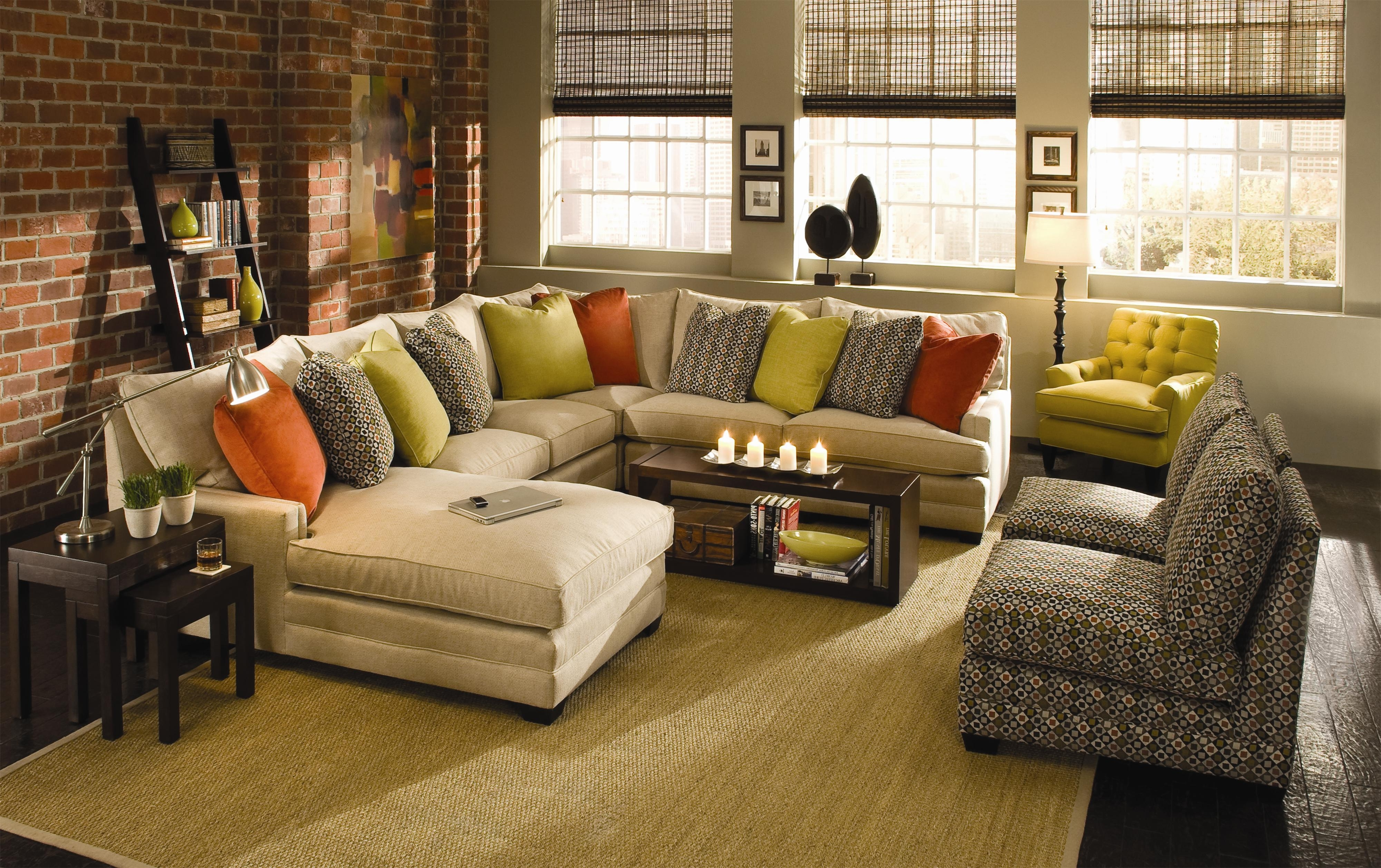 Fashionable Knoxville Tn Sectional Sofas For Sam Moore Margo Wide Sectional Sofa (View 4 of 20)
