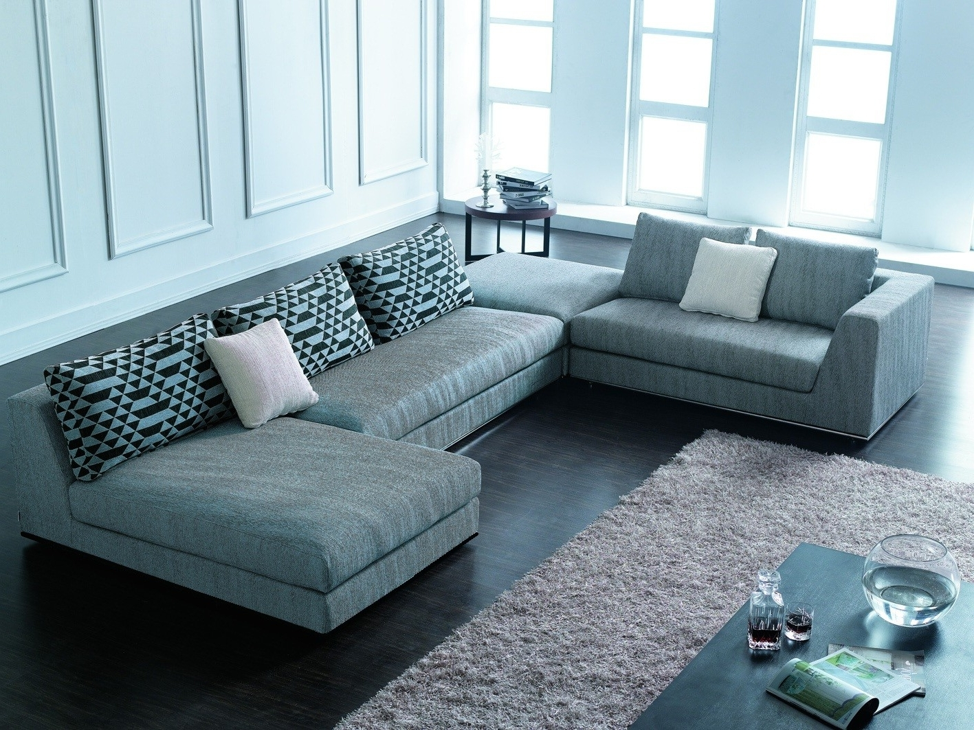 Fashionable Large Comfortable Sectional Sofas Within Most Comfortable Sectional Couches — Cabinets, Beds, Sofas And (View 20 of 20)