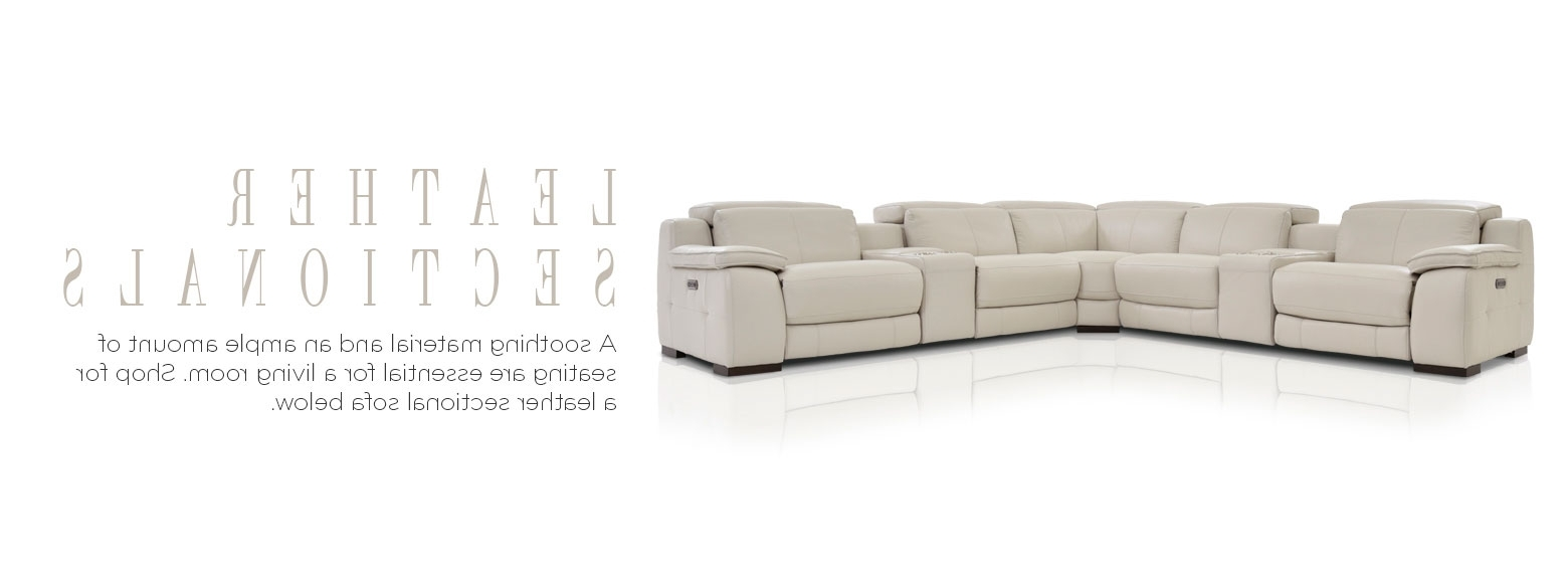 Fashionable Leather Furniture – Leather Sectional Sofas (View 4 of 20)