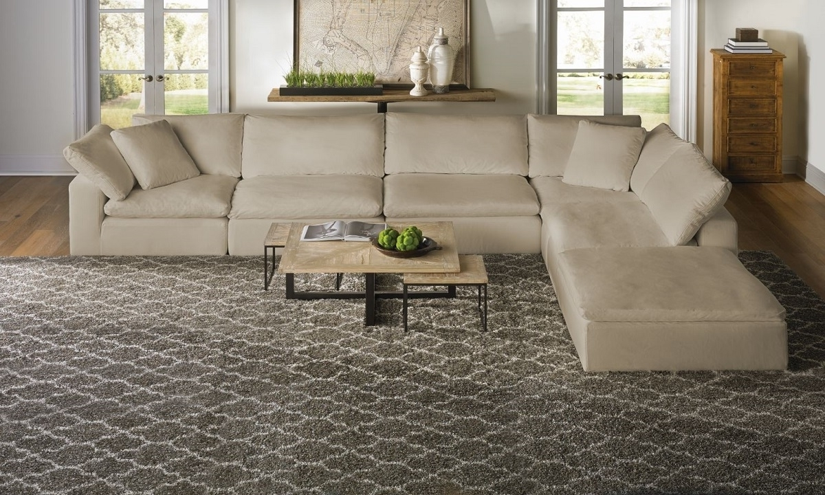 Fashionable Luxe Modular Slipcover Sectional (View 4 of 20)