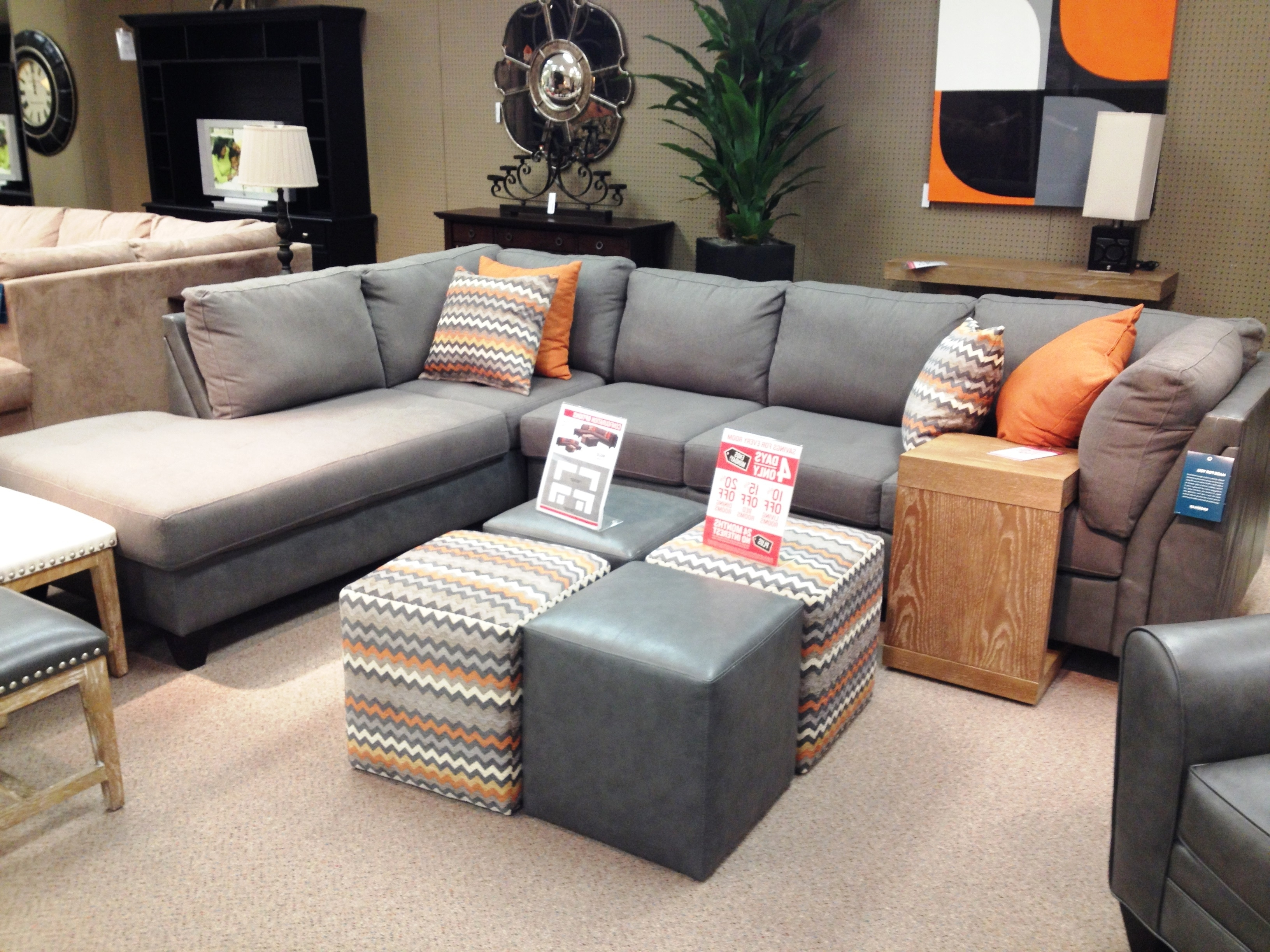 Fashionable Macys Leather Sectional Sofas Inside Elliot Sectional Sofa (View 19 of 20)