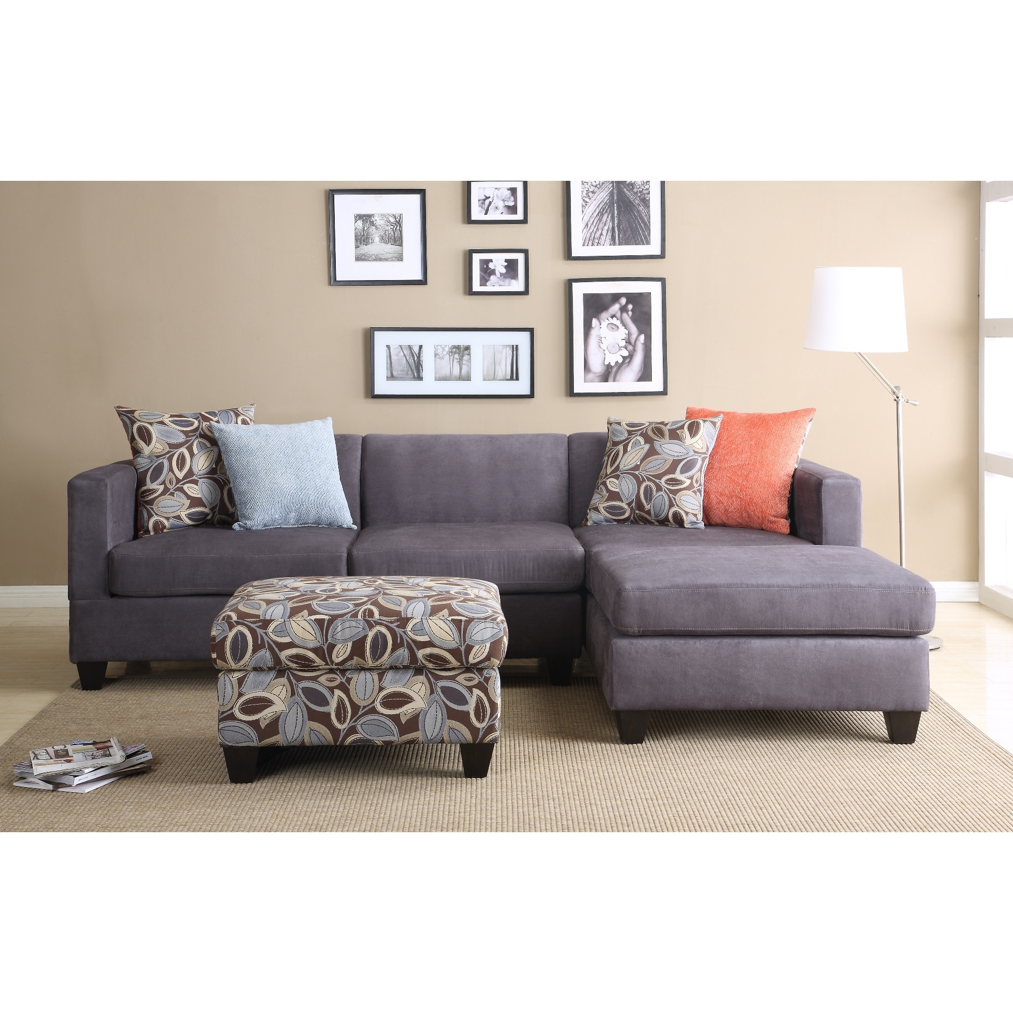 Fashionable Mini Sectional Sofas Within Furniture & Sofa: Perfect Small Spaces Configurable Sectional Sofa (View 3 of 20)