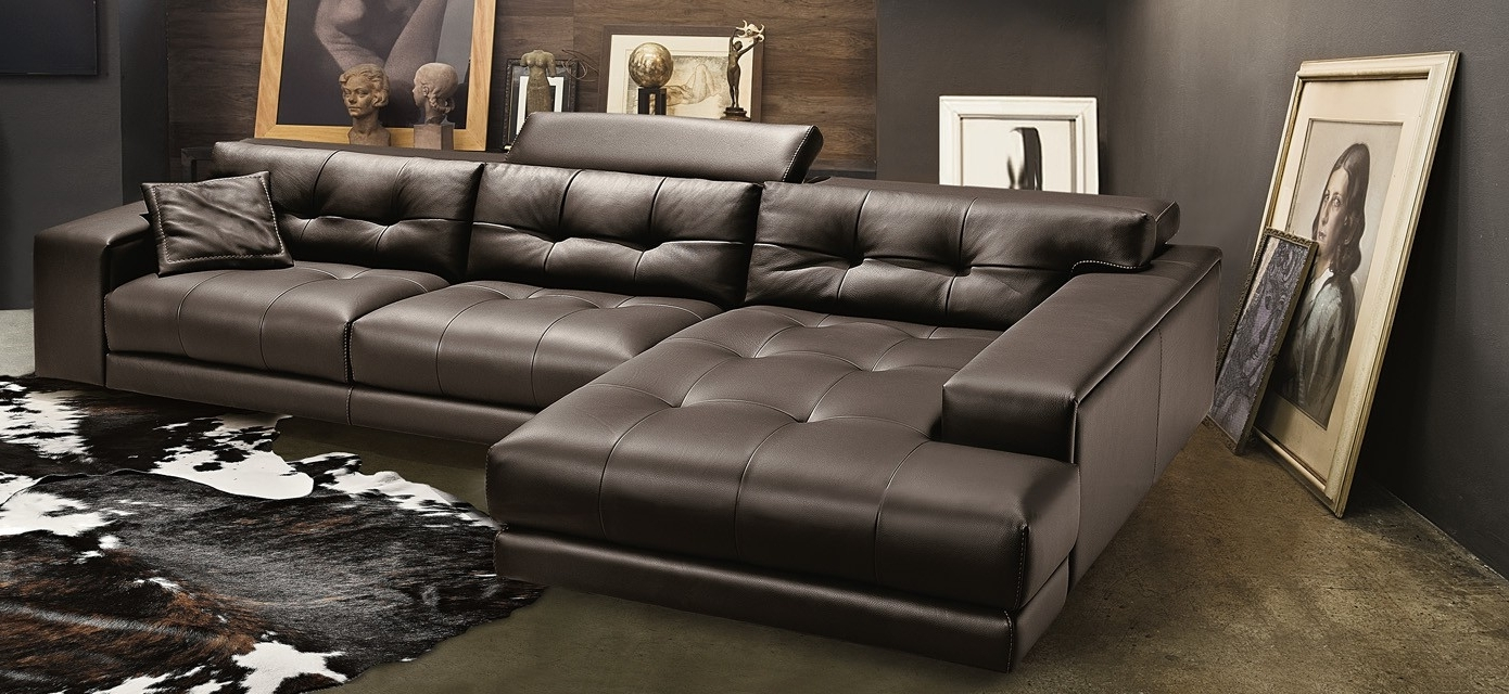 Fashionable Nh Sectional Sofas Intended For Soleado Sectional, Gamma International, Italy – Italmoda Furniture (View 14 of 20)